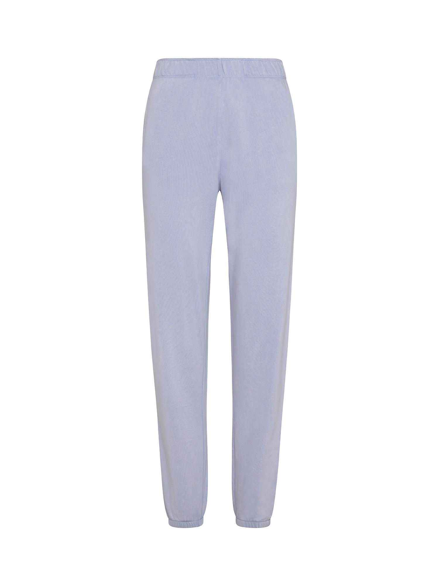 Pantaloni boyfriend acid wash, Azzurro, large image number 0