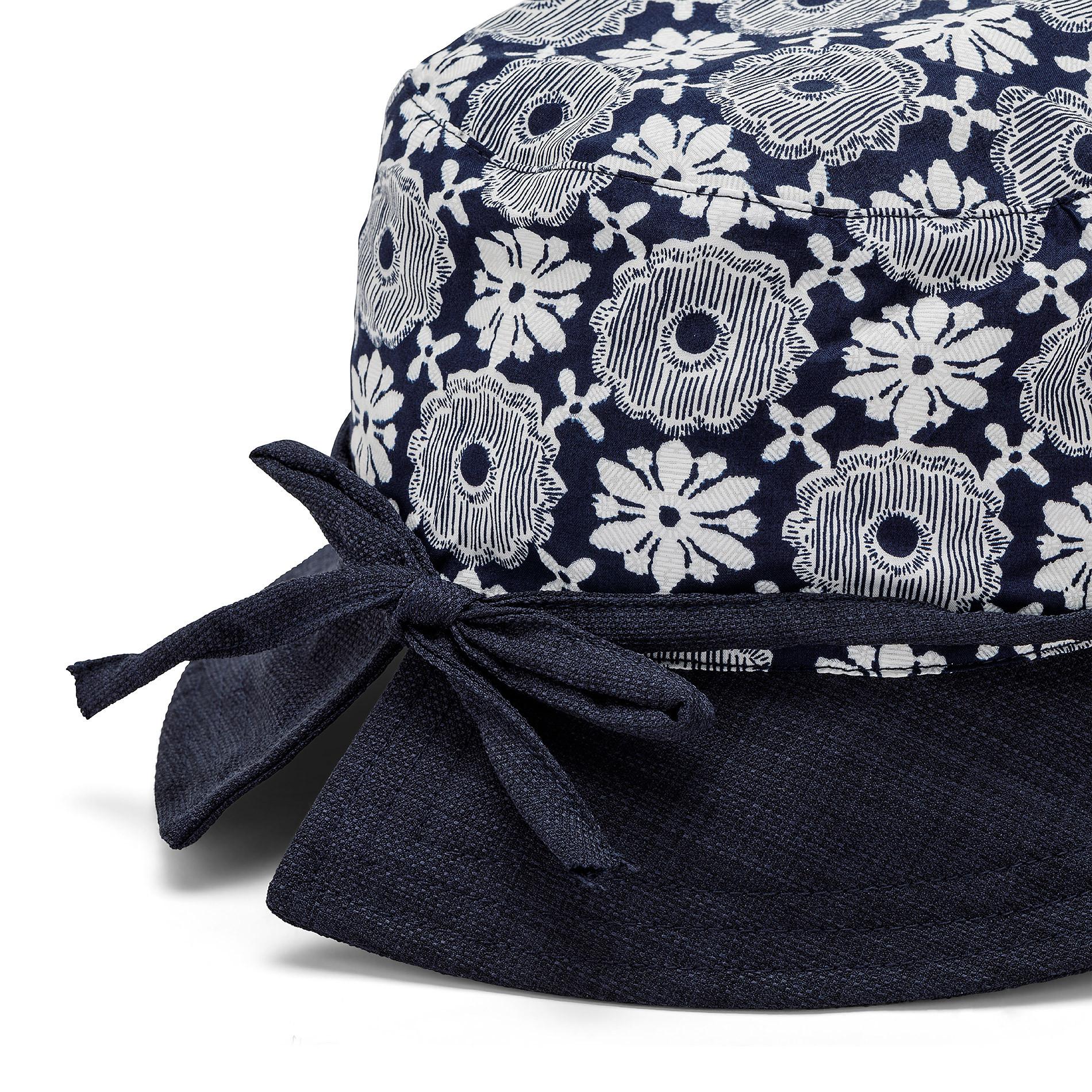 Cappello a cloche con stampa Koan, Blu scuro, large image number 1