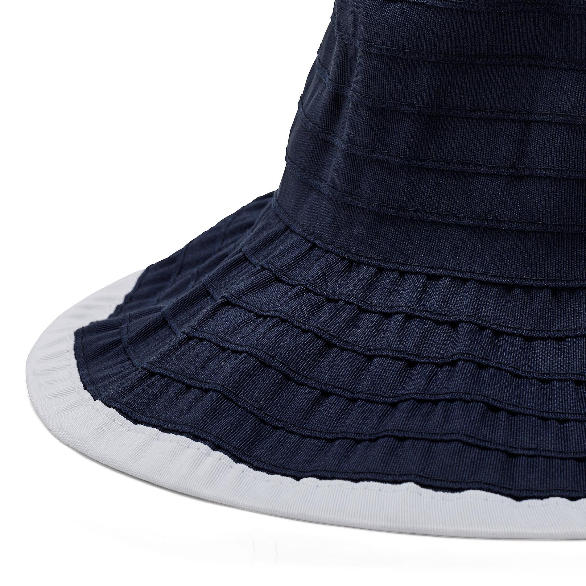 Cappello con effetto riga Koan, Blu scuro, large image number 1
