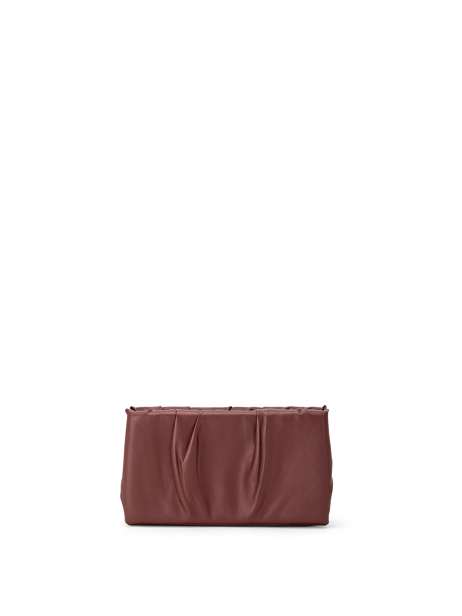 Ruched Frame Clutch, Rosso ciliegia, large image number 0