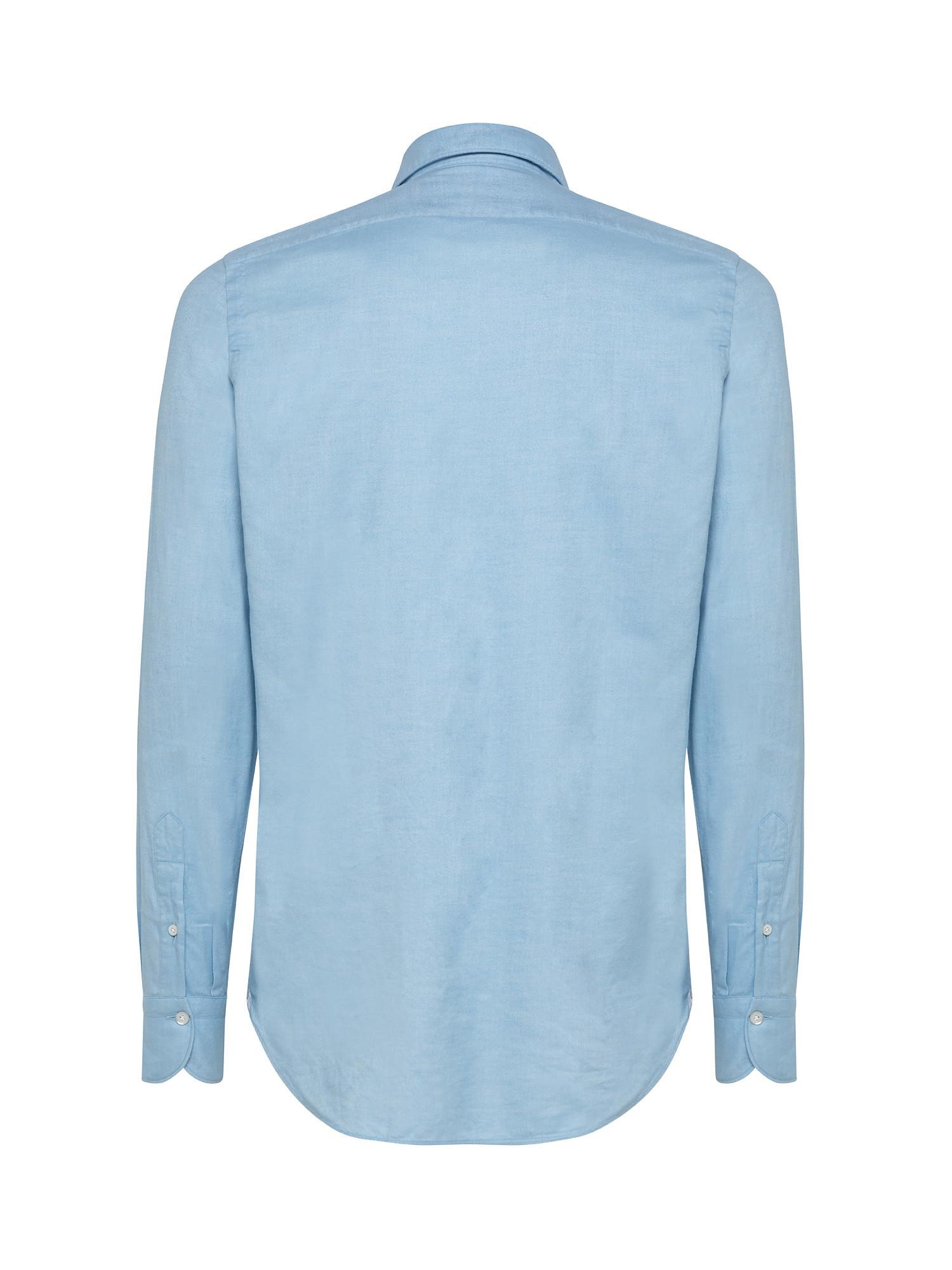 Camicia uomo slim fit, Azzurro, large image number 1