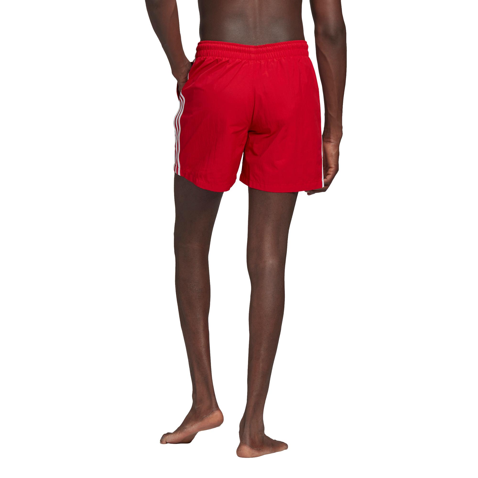 Short da nuoto adicolor classics 3-stripes, Rosso, large image number 2