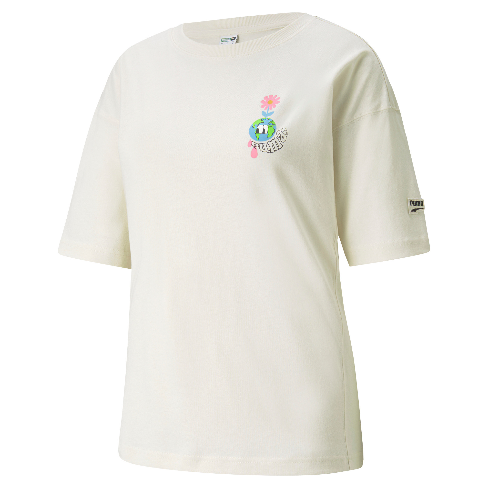 T-shirt sportiva  Downtown Graphic, Beige, large image number 0