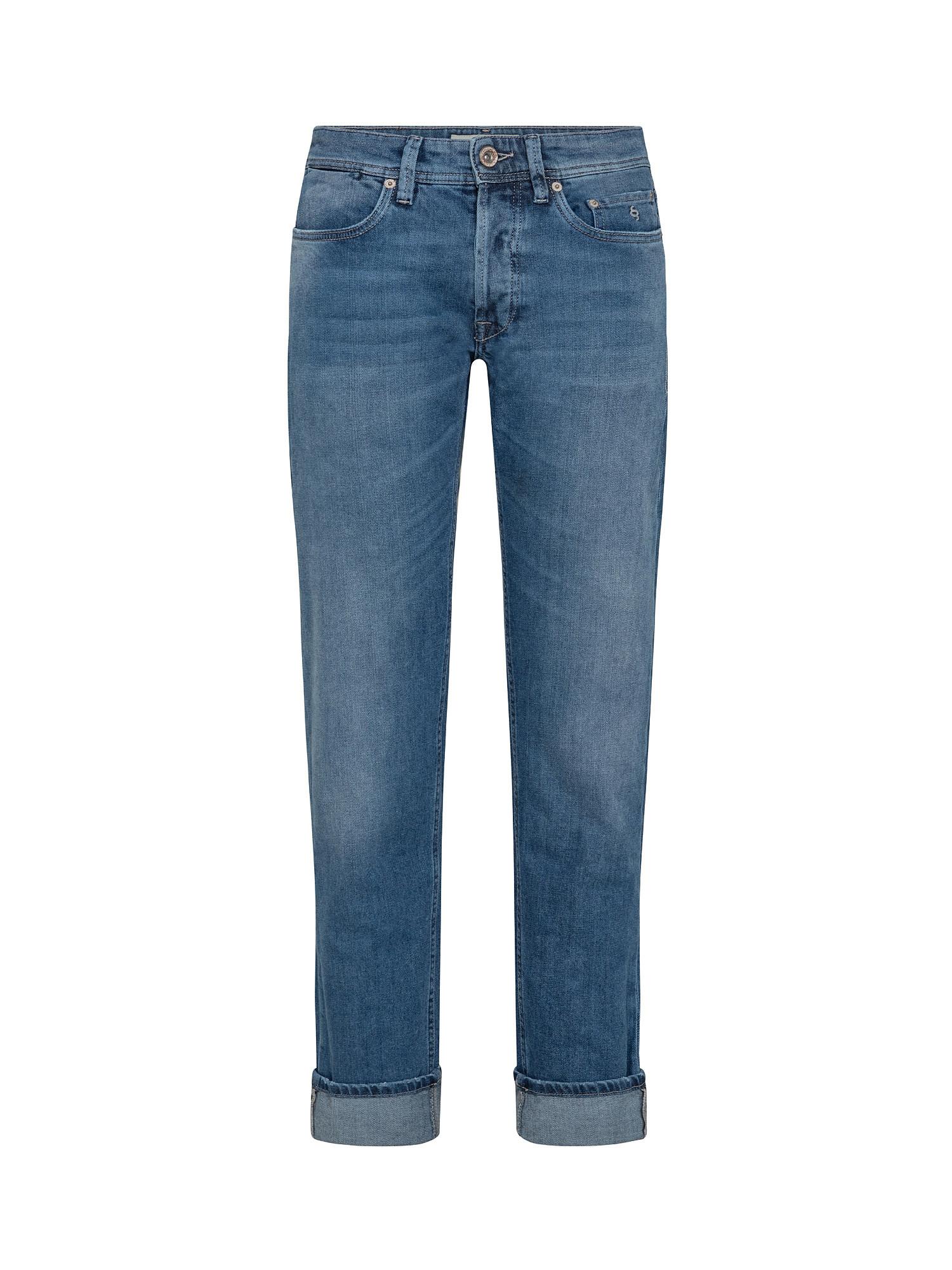 Pantalone denim, Blu, large image number 0