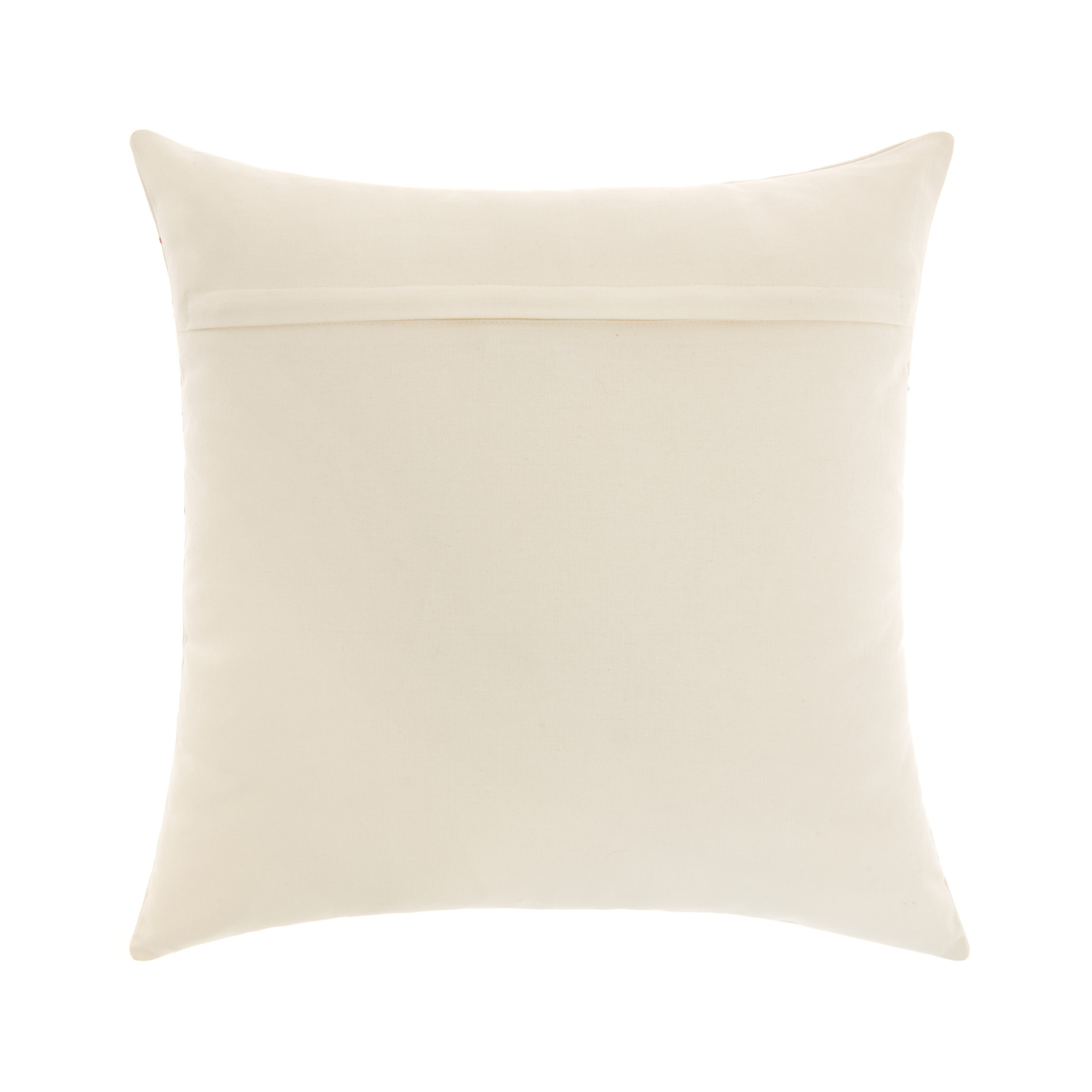 Cuscino Love con ricami 45x45cm, Bianco, large image number 1
