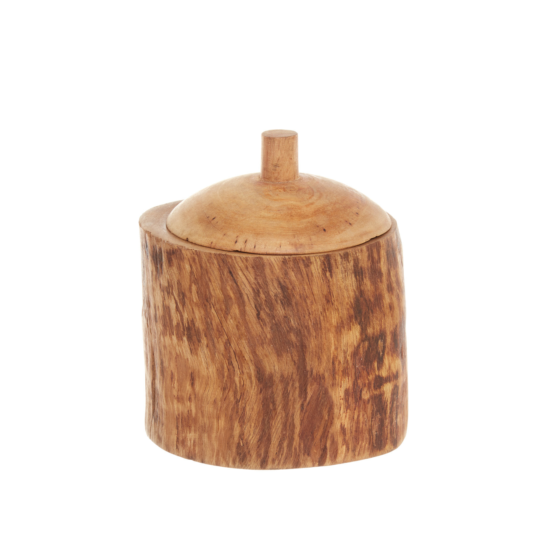 Box legno di mango decorato a mano, Marrone, large image number 1