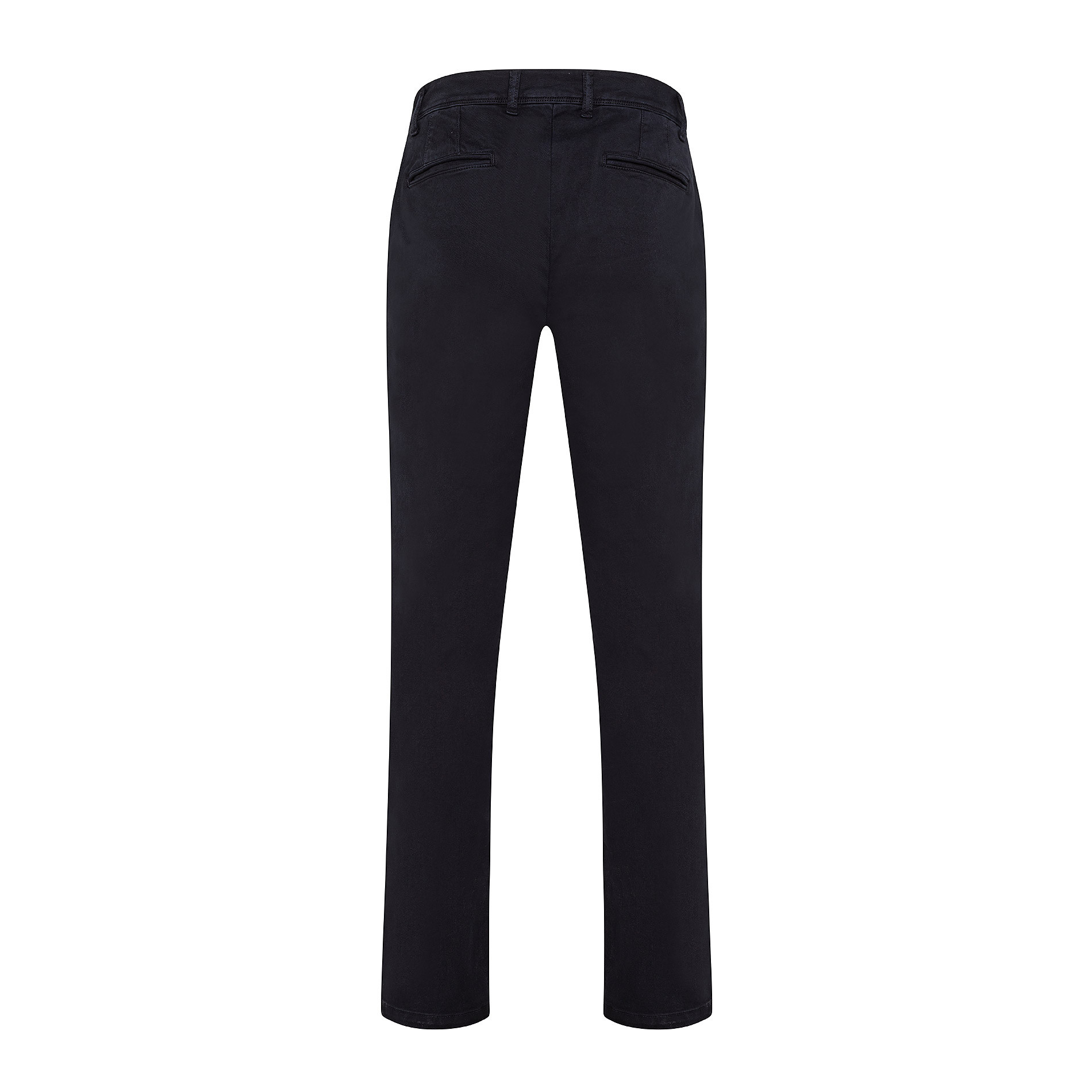 Pantalone chino gabardina stretch JCT, Blu, large image number 1