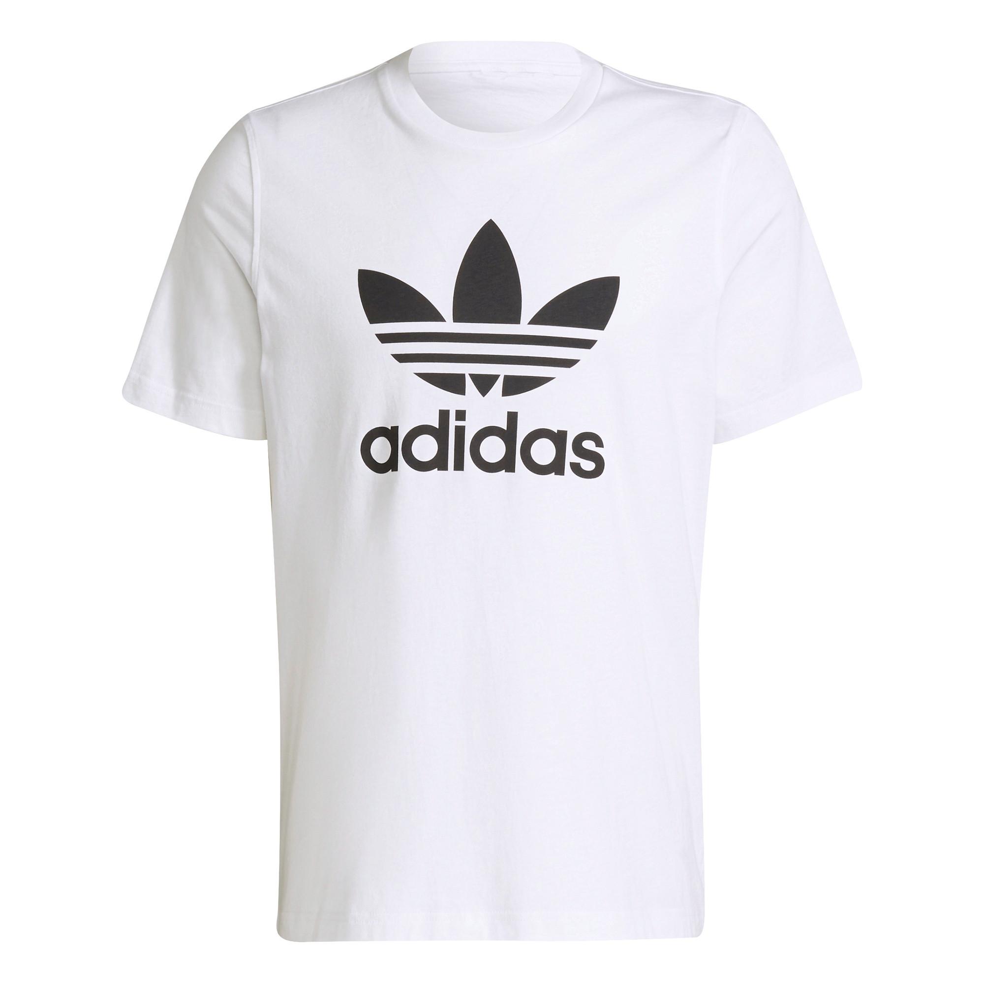 T-shirt uomo adicolor Classics Trefoil, Bianco/Nero, large image number 0