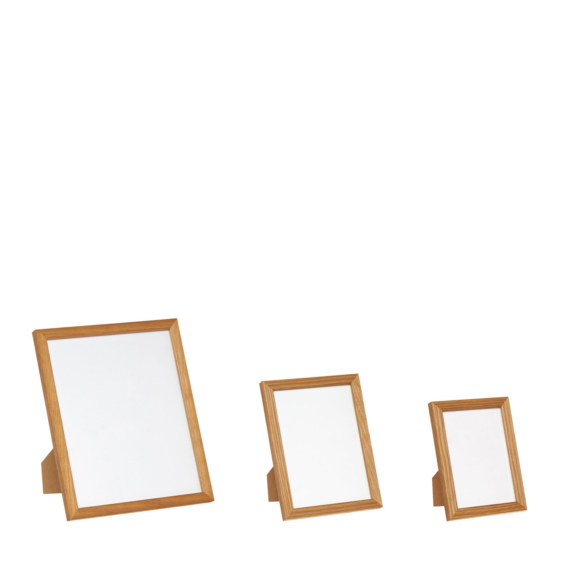 Portafoto legno bianco, Marrone chiaro, large image number 1