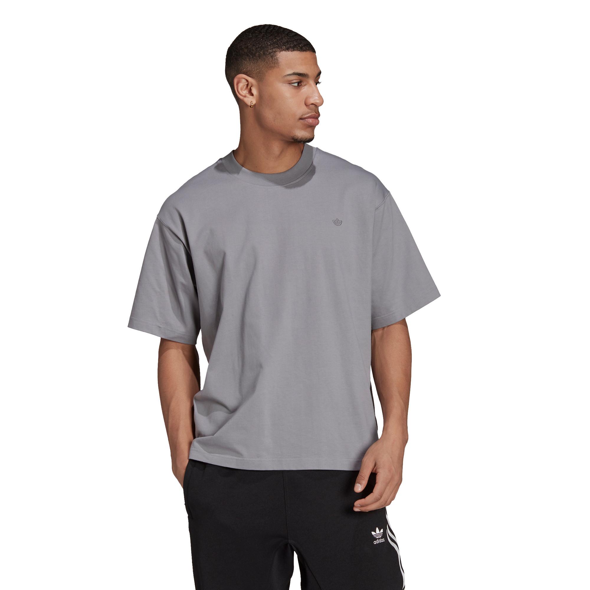 T-shirt uomo adicolor Trefoil, Grigio, large image number 2
