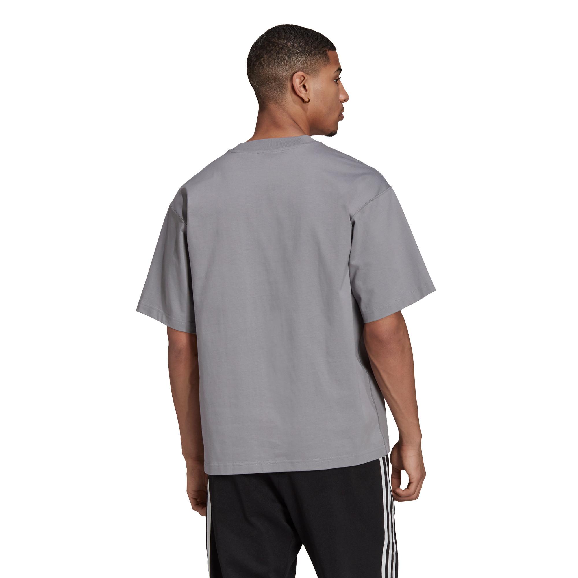 T-shirt uomo adicolor Trefoil, Grigio, large image number 1