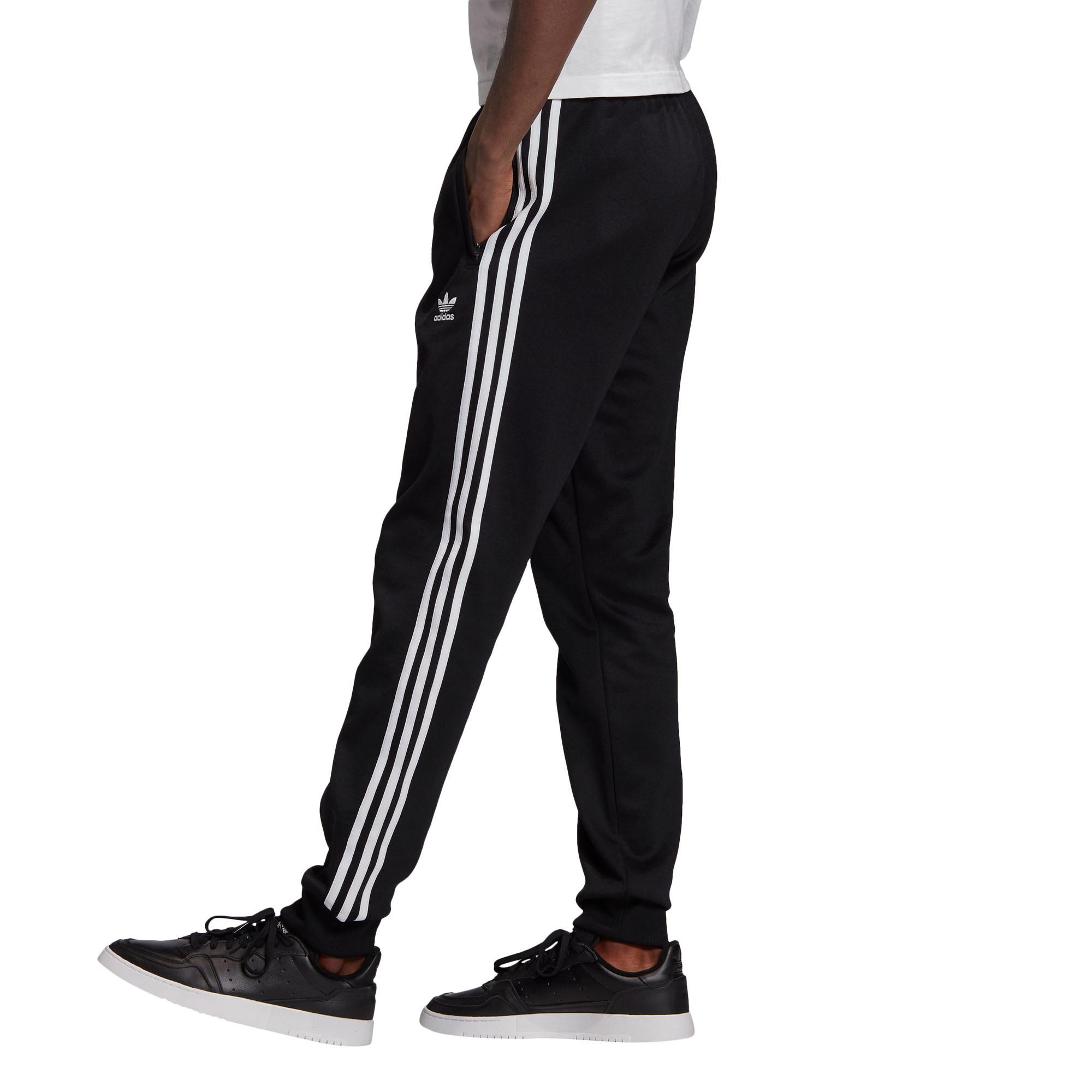 Pantaloni tuta adicolor Classics Primeblue SST, Bianco/Nero, large image number 2