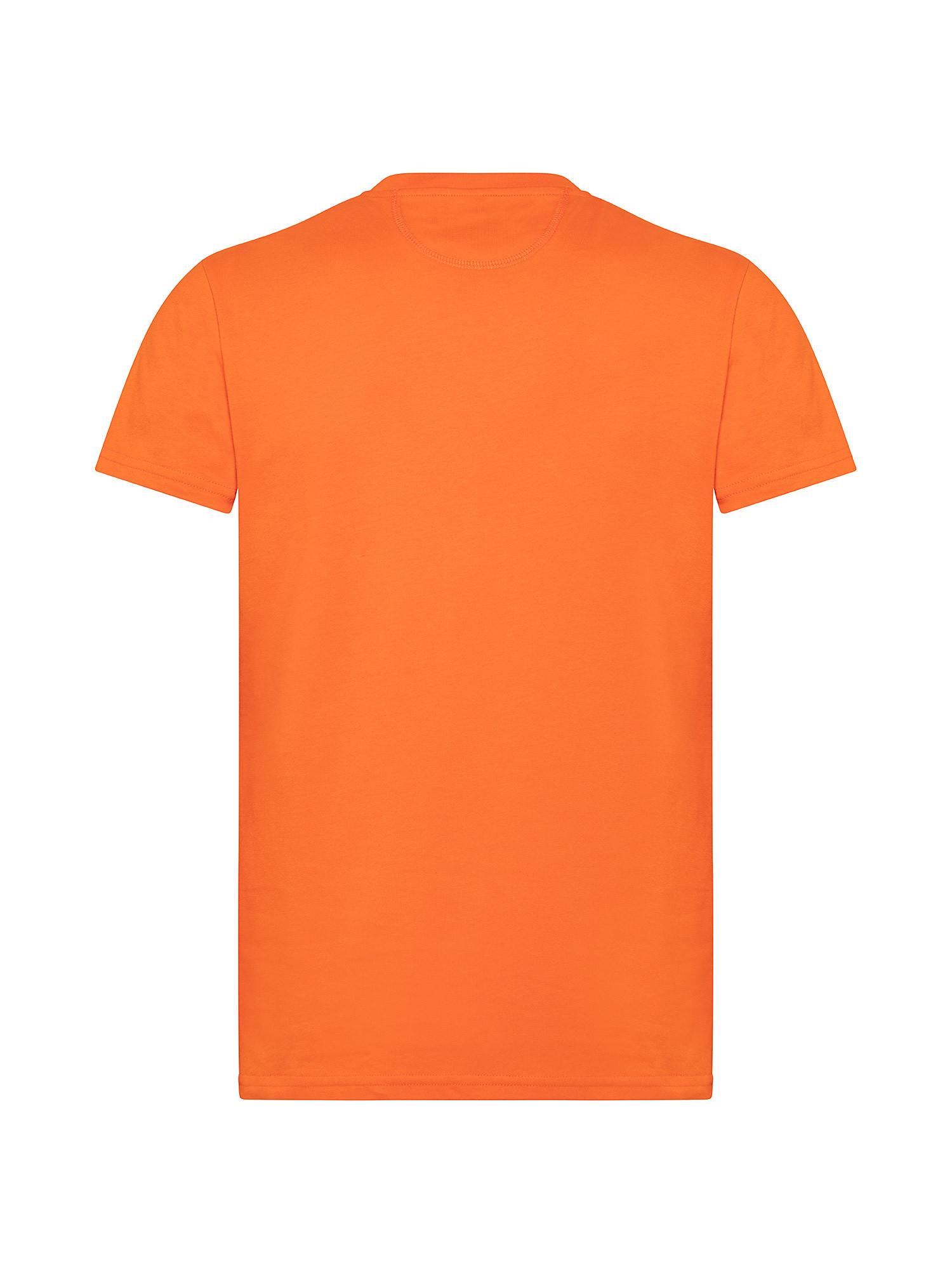 T-shirt da uomo in cotone 100% regular fit, Arancione, large image number 1