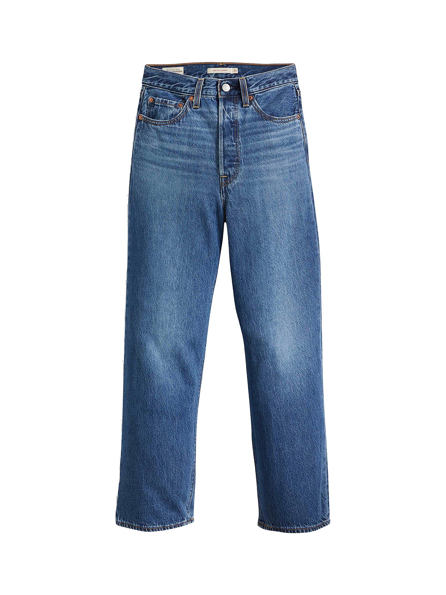 Jeans donna ribcage straight ankle, Denim, large image number 0