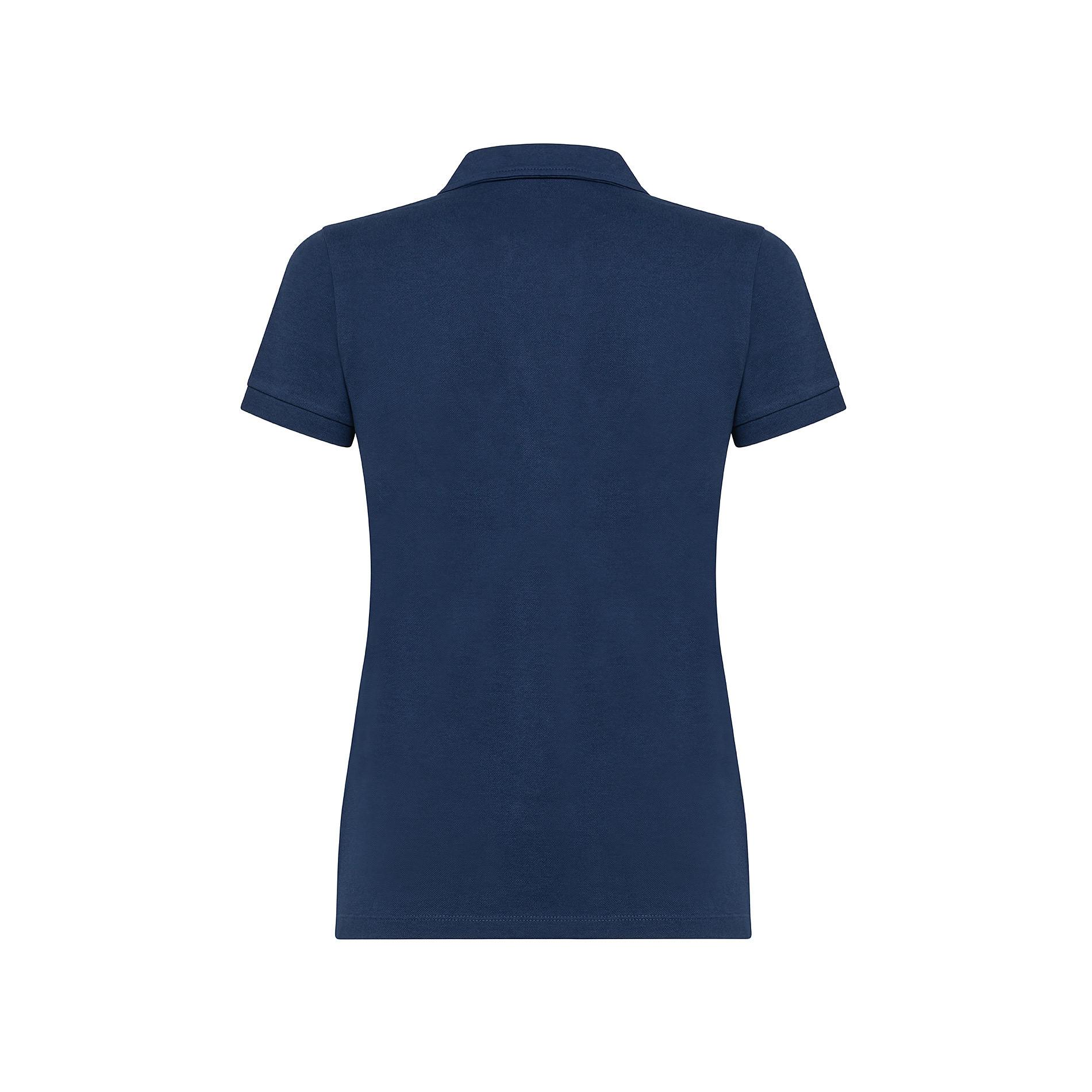 Polo cotone tinta unita, Blu, large image number 1