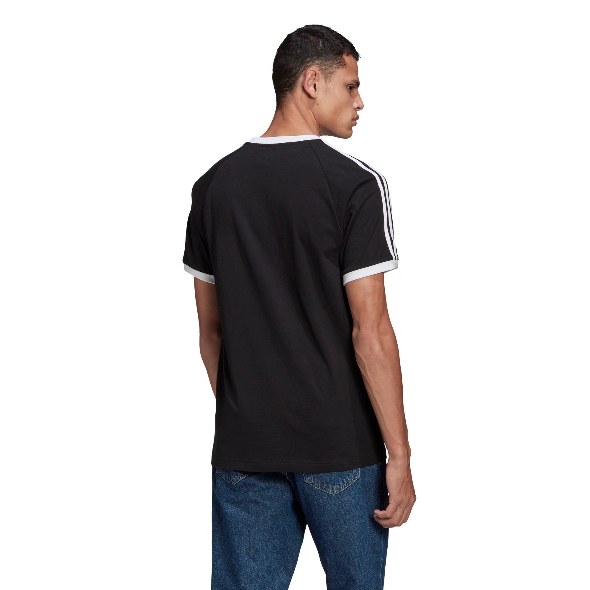 T-Shirt Adicolor Classics 3-Stripes, Nero, large image number 1
