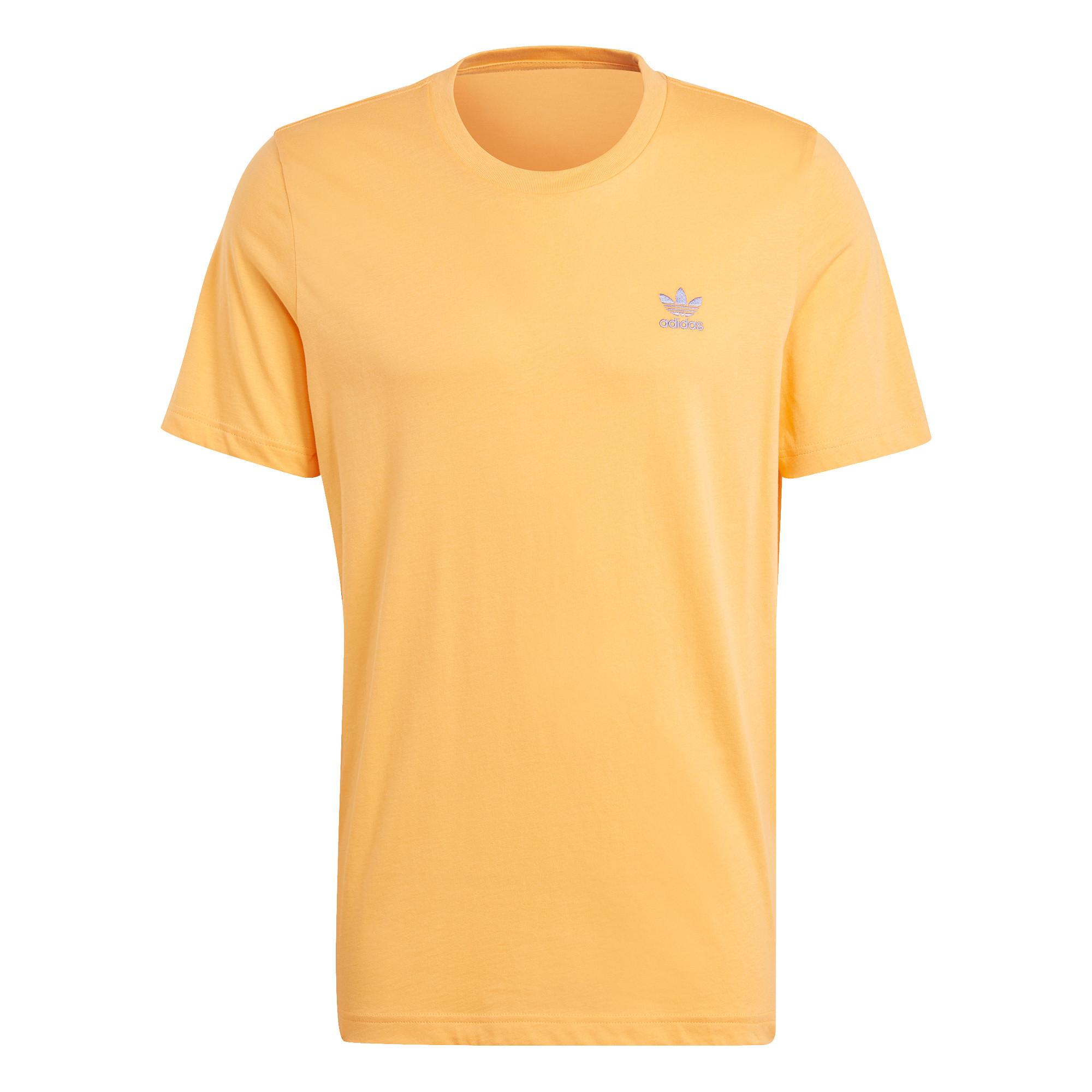 T-shirt loungewear adicolor trefoil essentials, Arancione, large image number 0
