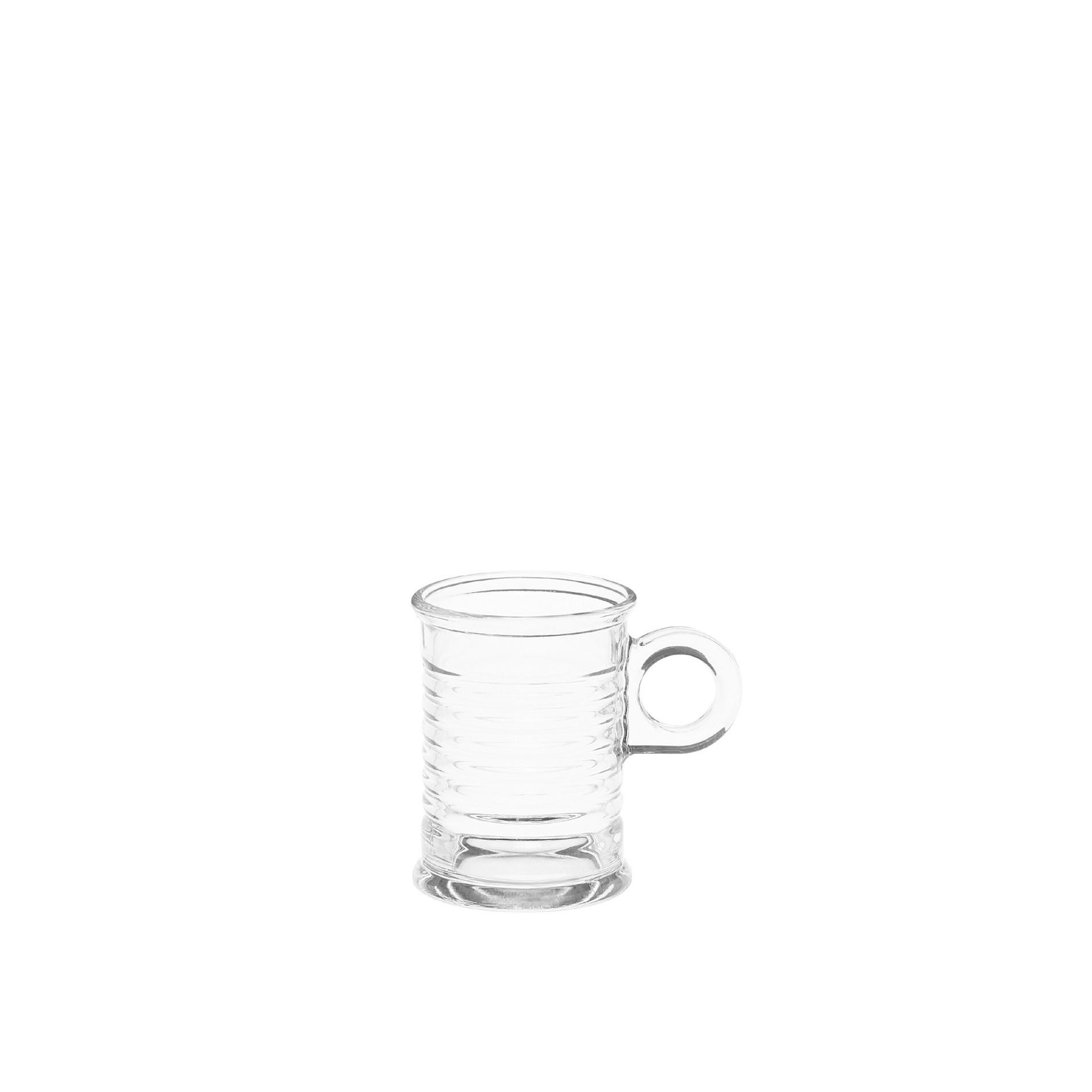 Tazzina caffè vetro, Trasparente, large image number 0