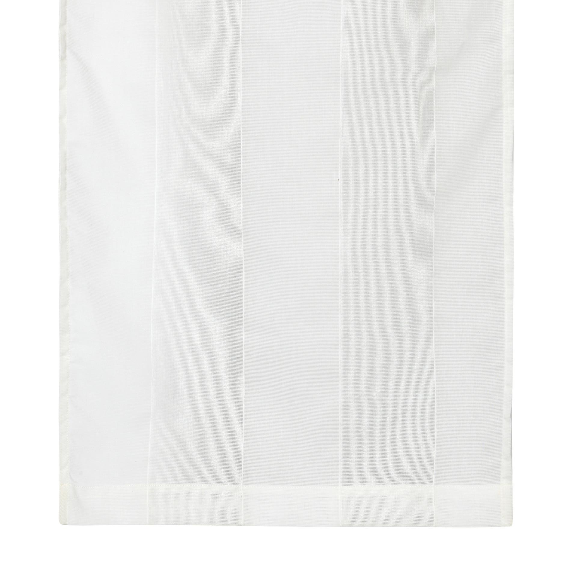 Tendina strisce verticali, Bianco, large image number 0