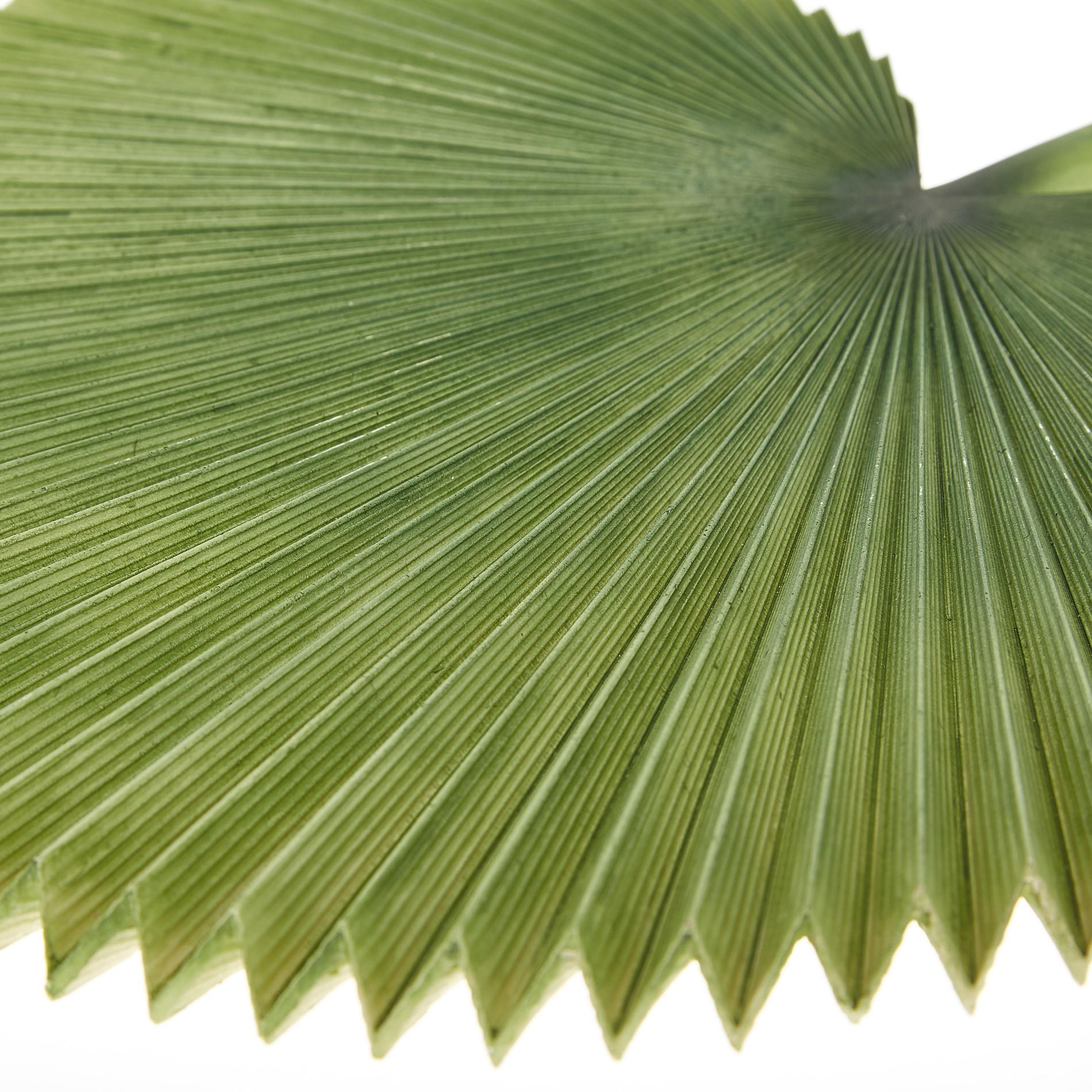 Set 4 foglie di palma decorative, Verde scuro, large image number 1