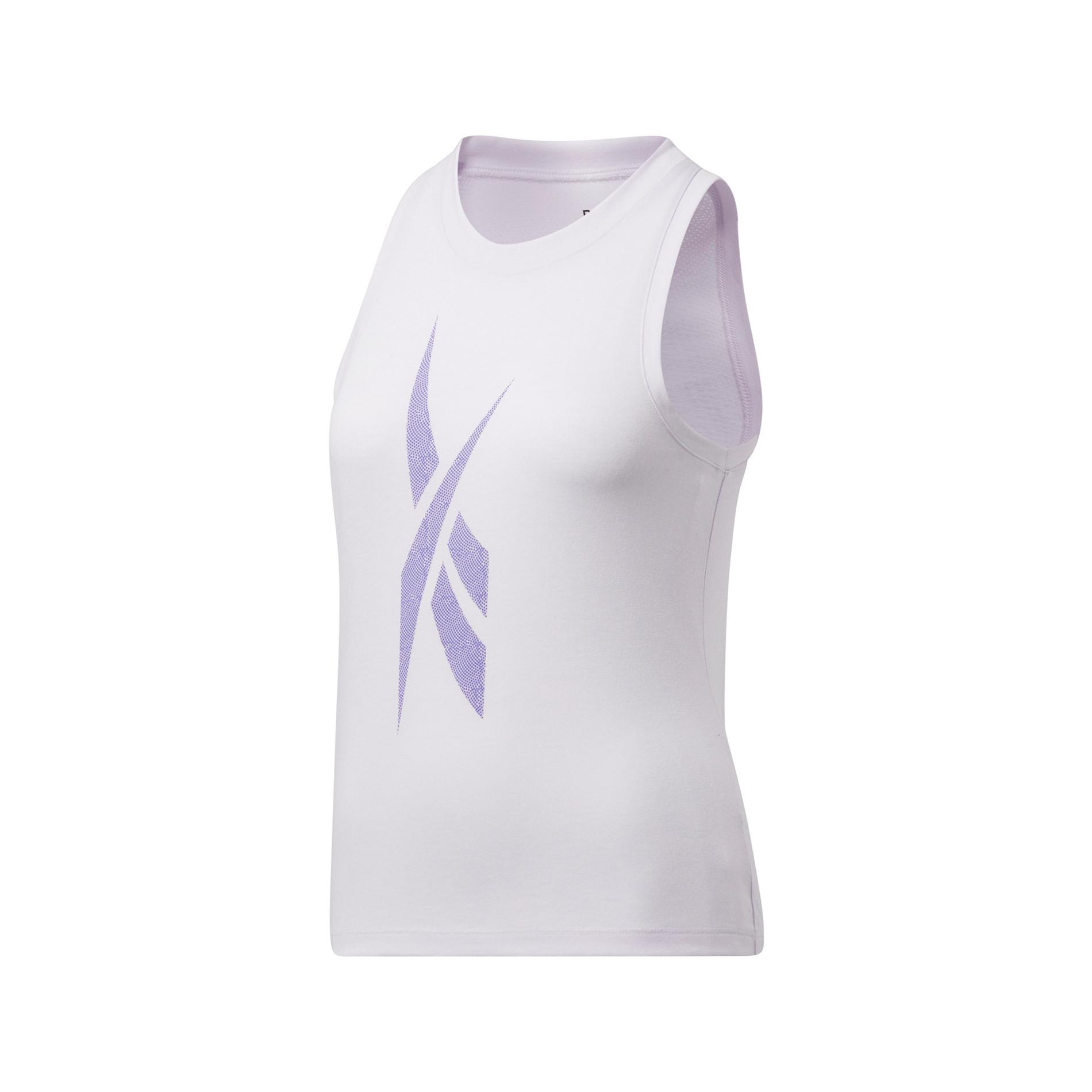 Canotta workout traspirante, Bianco, large image number 0