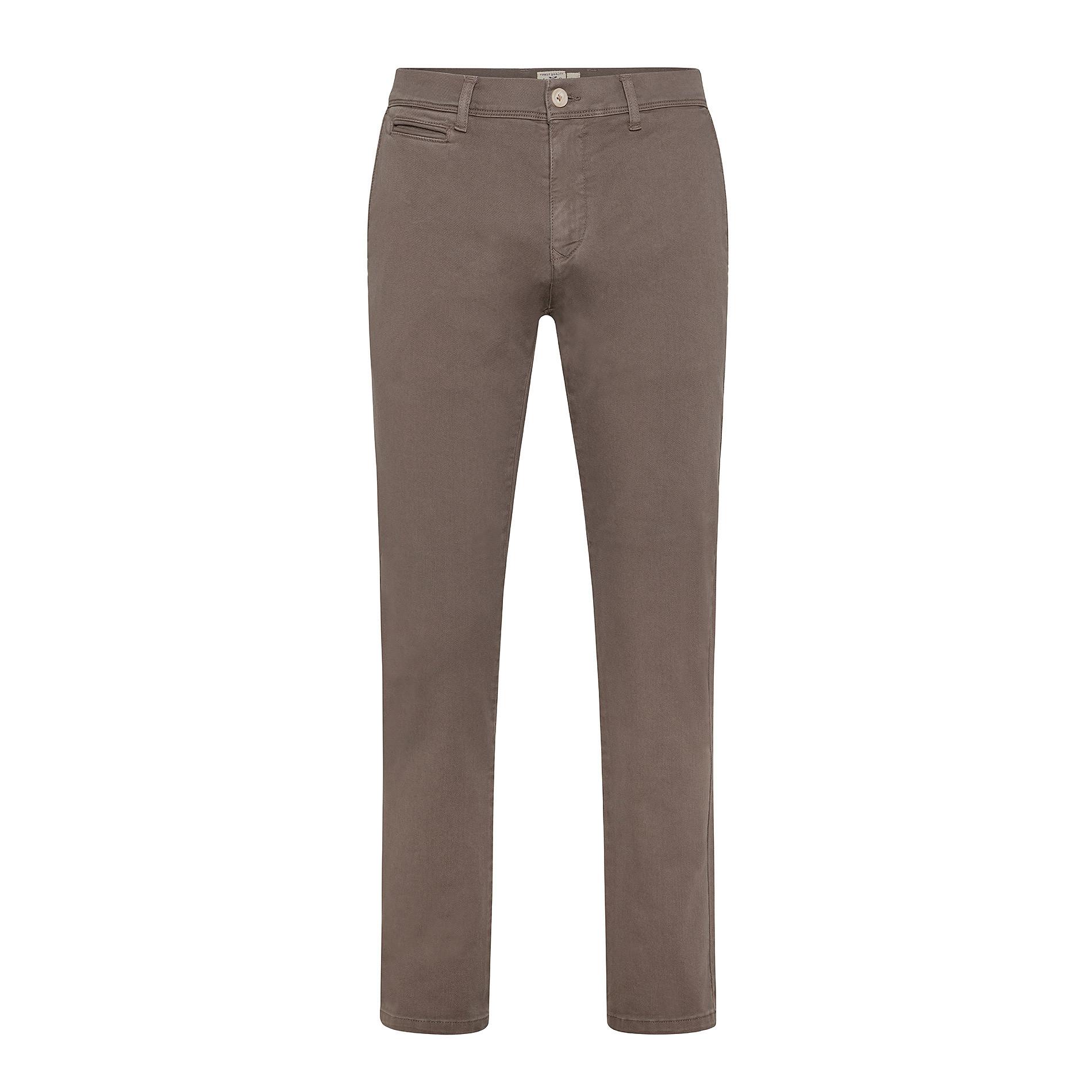 Pantalone chino gabardina stretch JCT, Beige, large image number 0