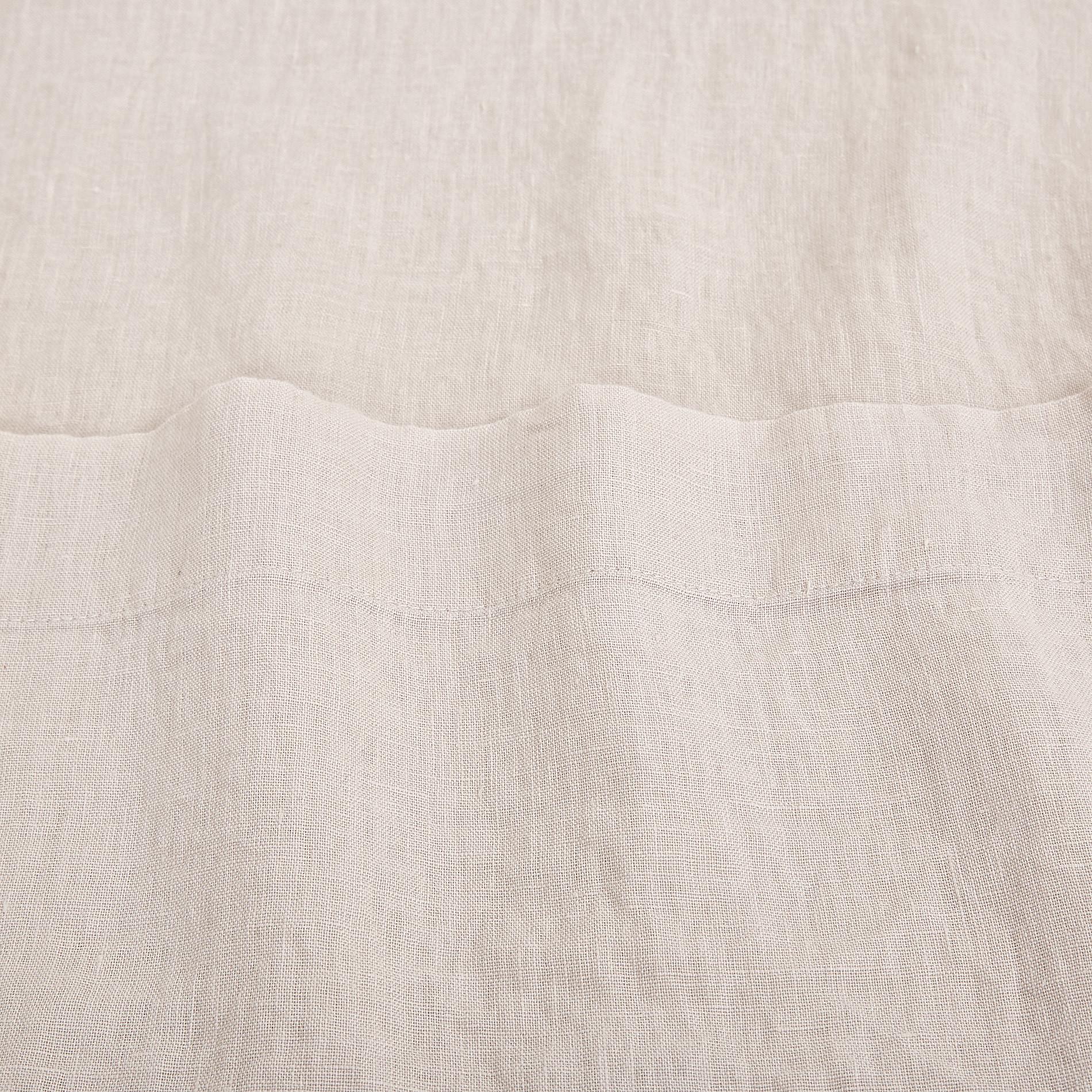 Lenzuolo liscio lino  Interno 11, Beige chiaro, large image number 3
