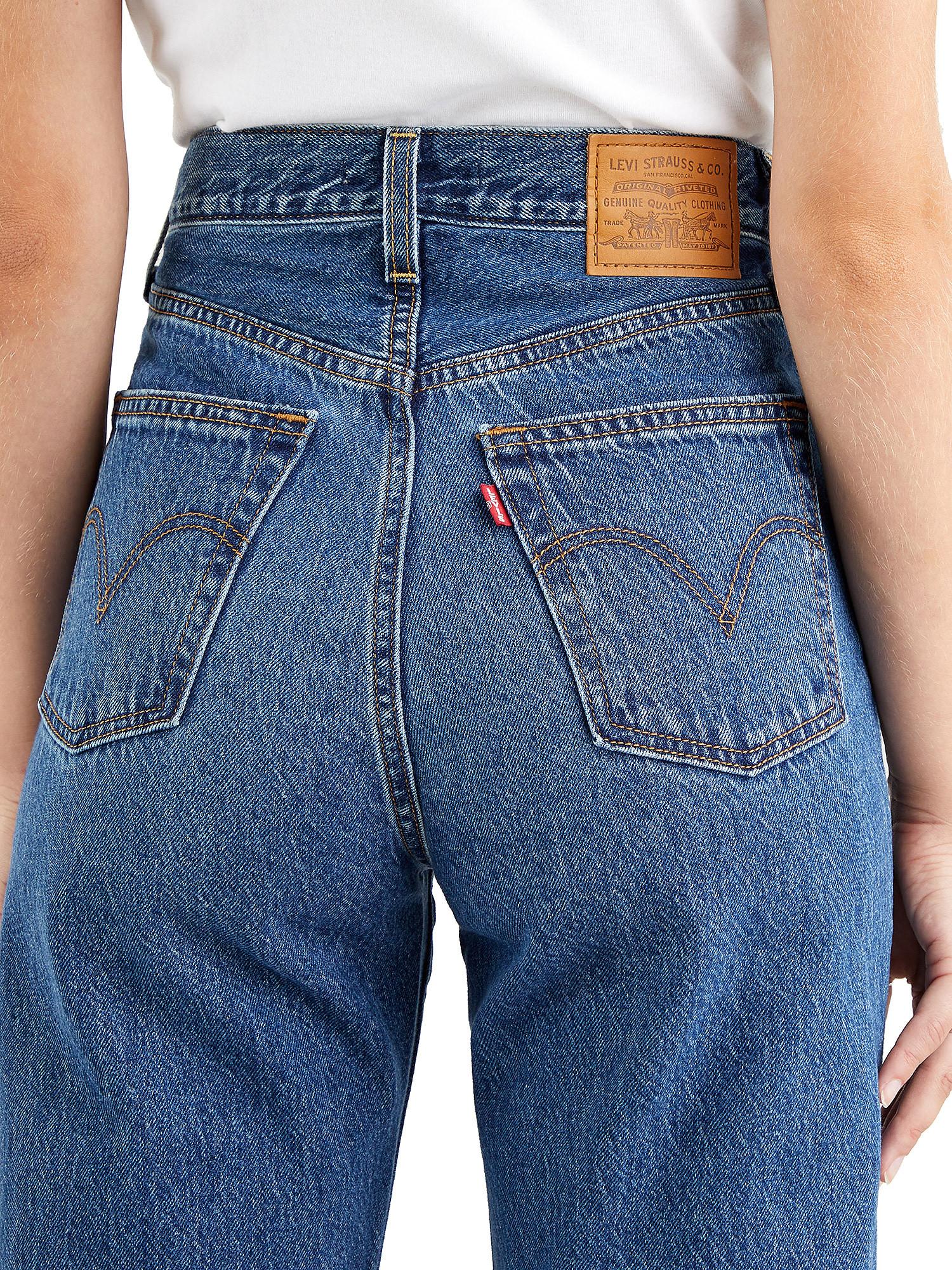 Jeans donna ribcage straight ankle, Denim, large image number 3