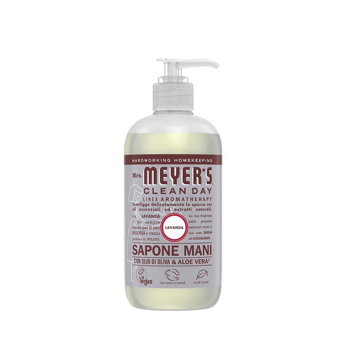 Sapone liquido per mani profumo di lavanda 370ml, Grigio, large image number 0