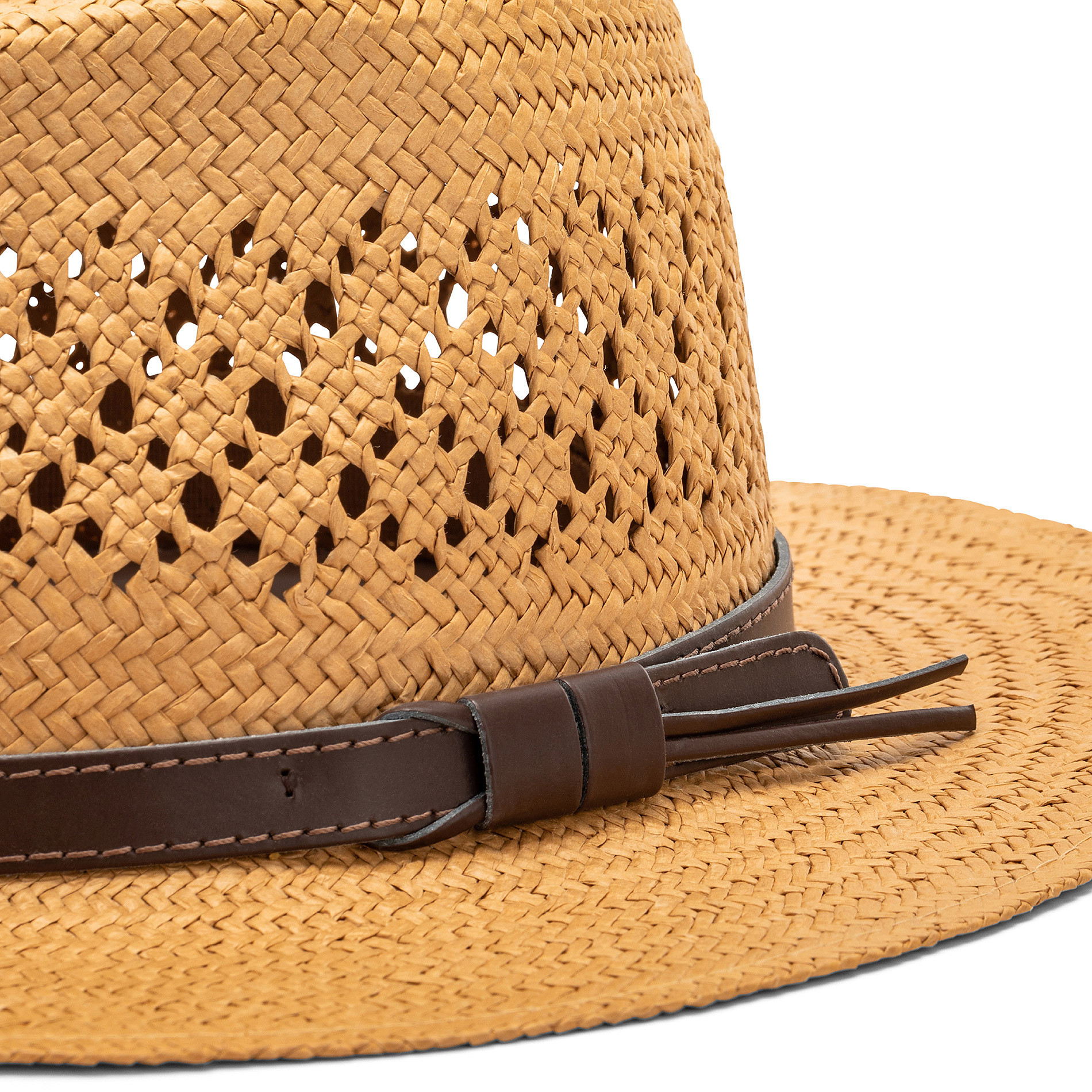 Cappello stile panama in paglia, Beige, large image number 1