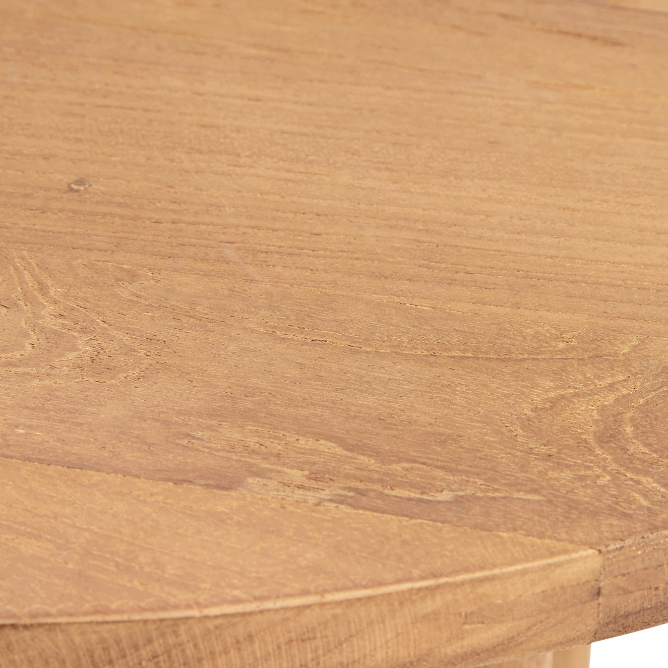Tavolo consolle in teak riciclato T-Table, Beige, large image number 2