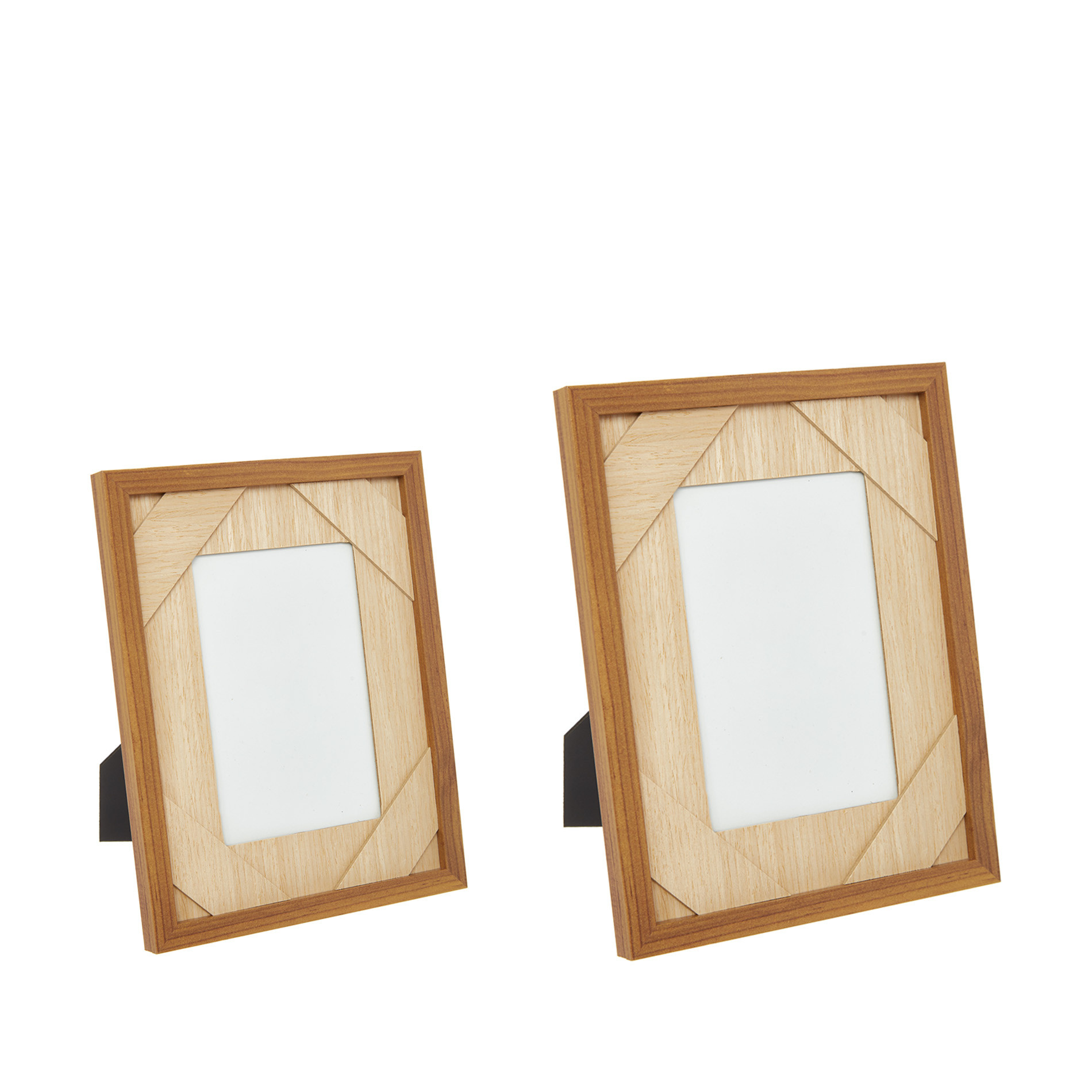 Portafoto effetto legno, Naturale, large image number 1