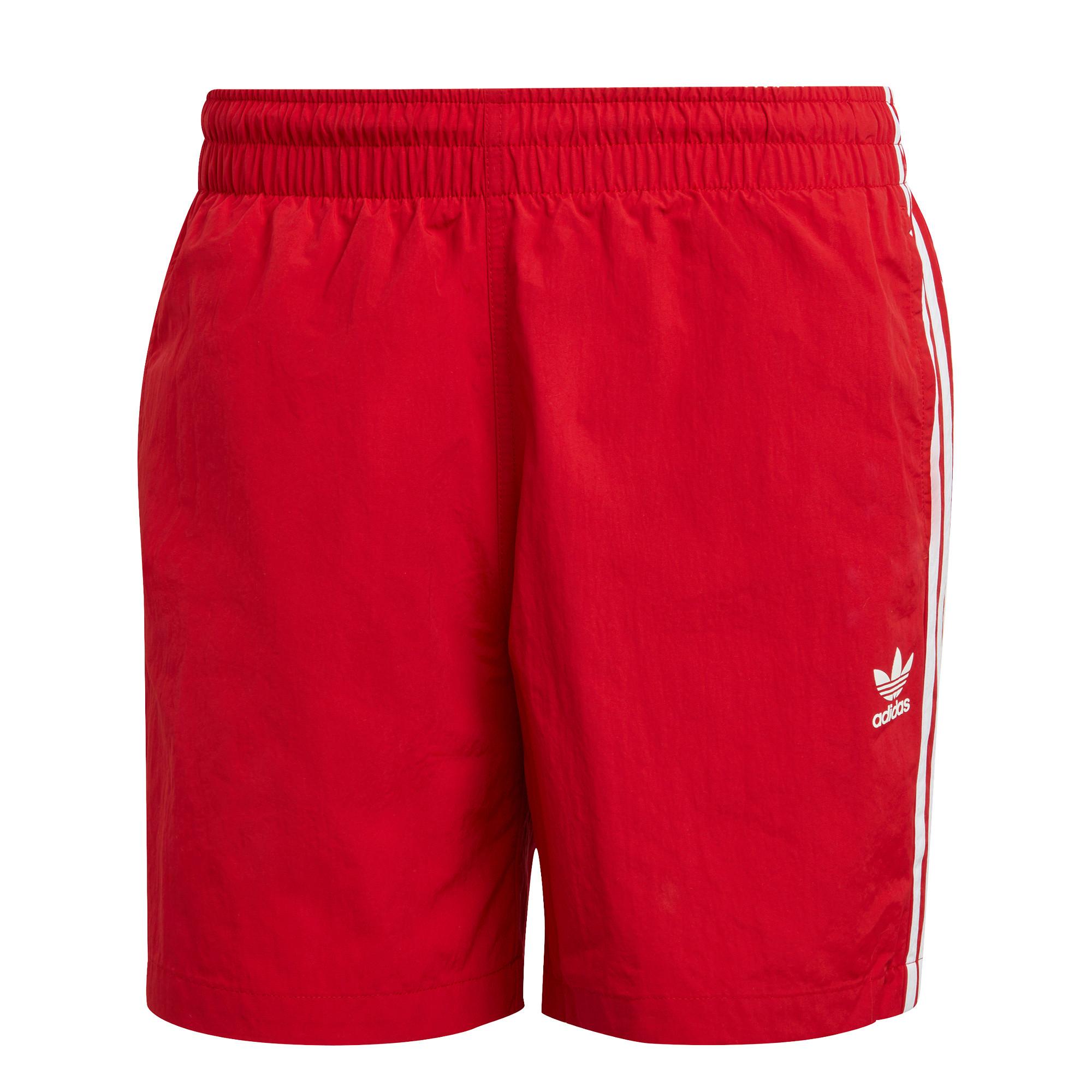 Short da nuoto adicolor classics 3-stripes, Rosso, large image number 0