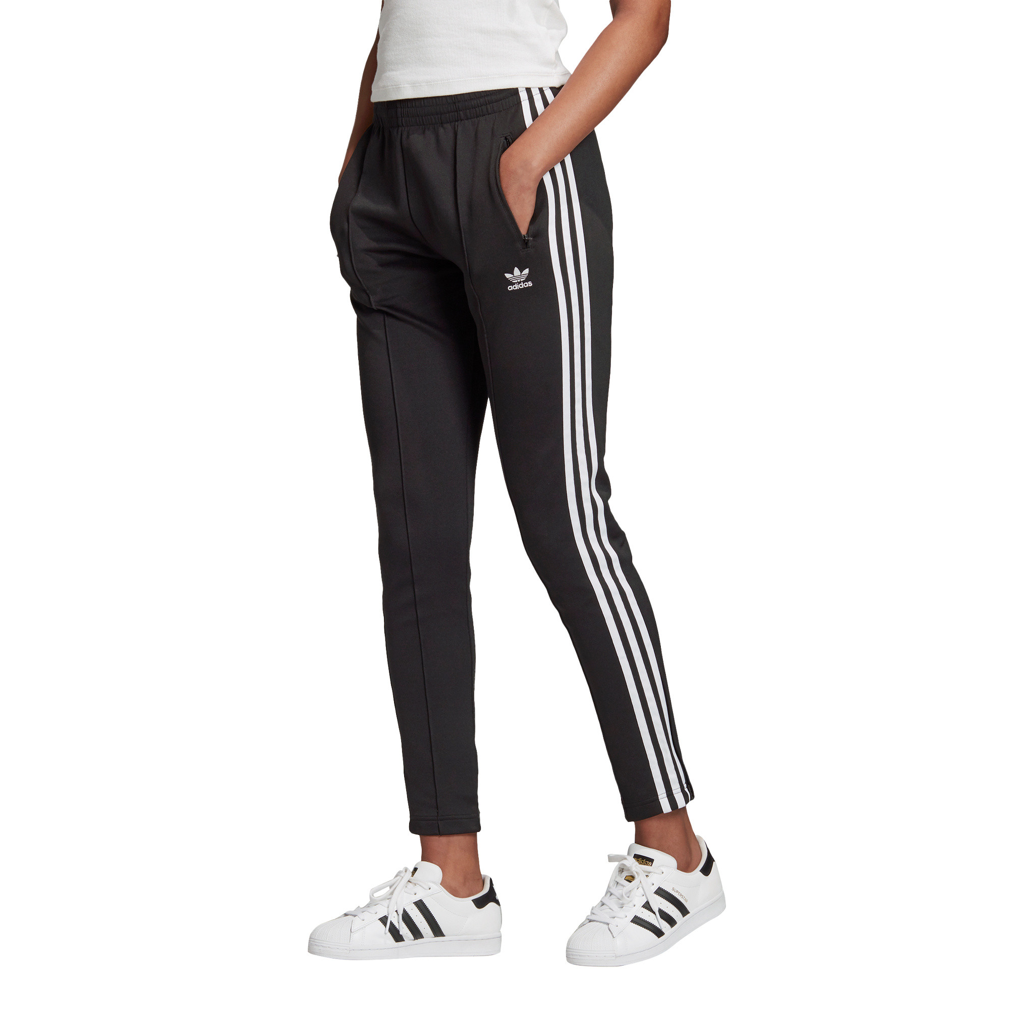 Pantaloni tuta Primeblue SST, Bianco/Nero, large image number 1