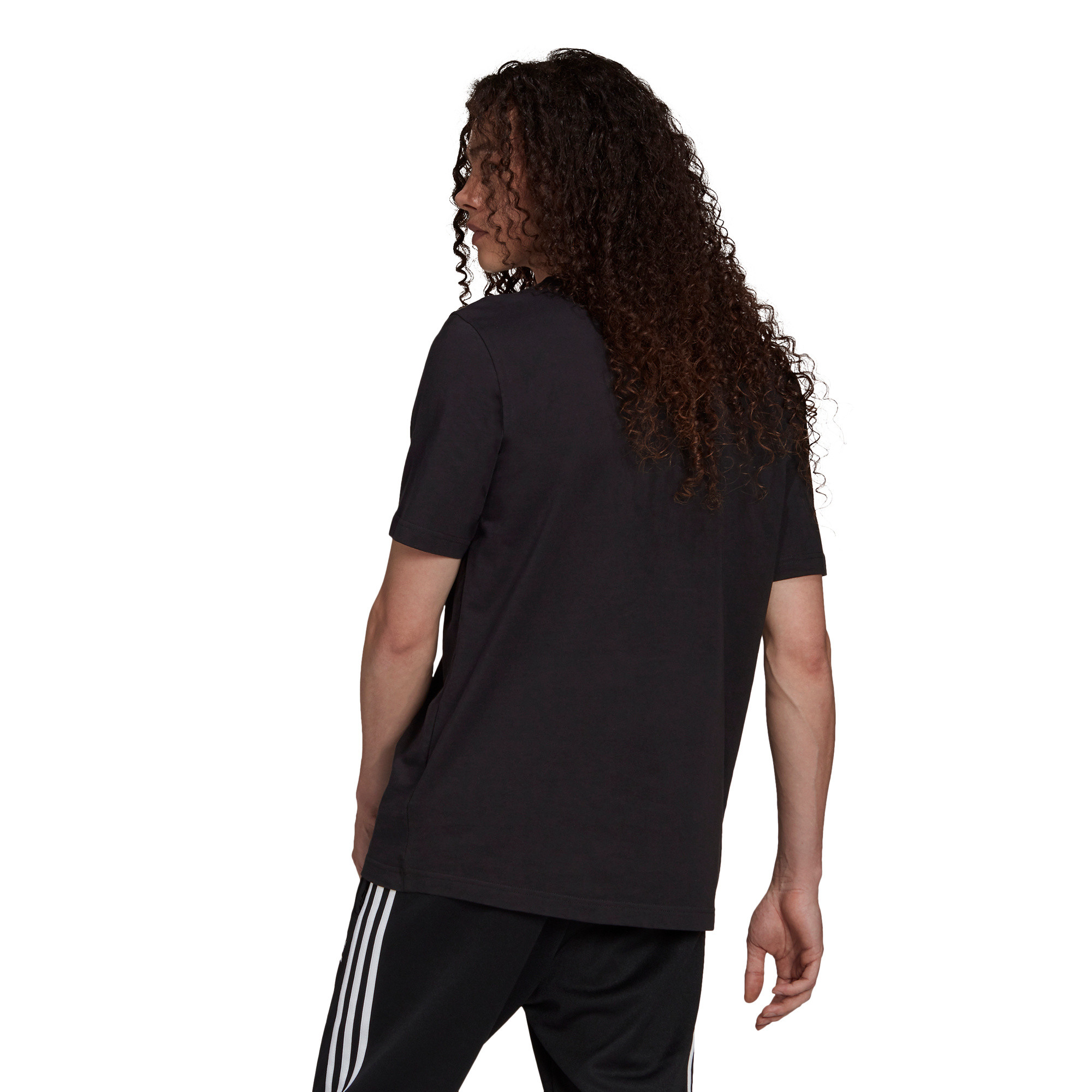 T-shirt uomo adicolor Classics Trefoil, Nero/Bianco, large image number 1