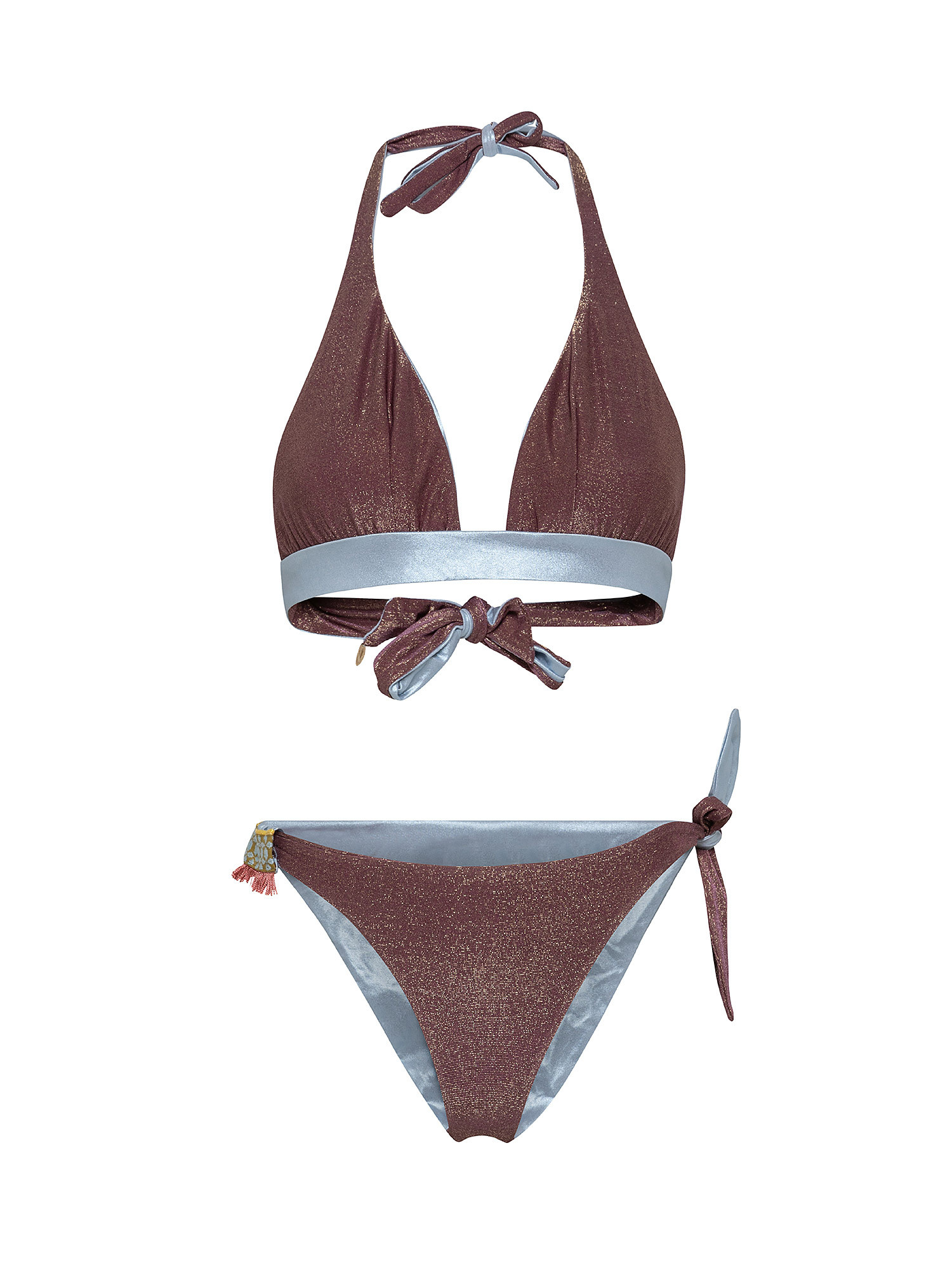 Bikini triangolo, Marrone bronzo, large image number 0