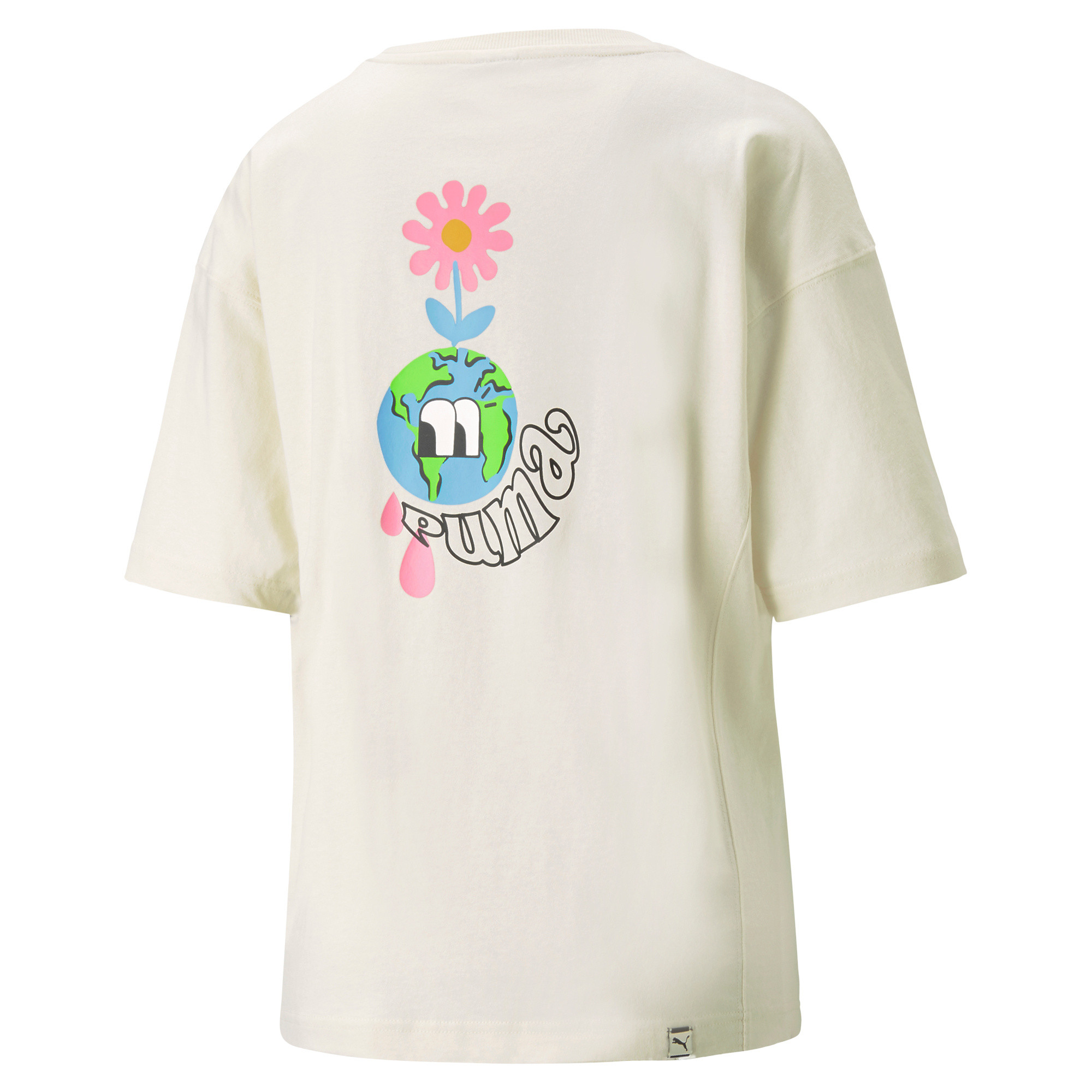 T-shirt sportiva  Downtown Graphic, Beige, large image number 1