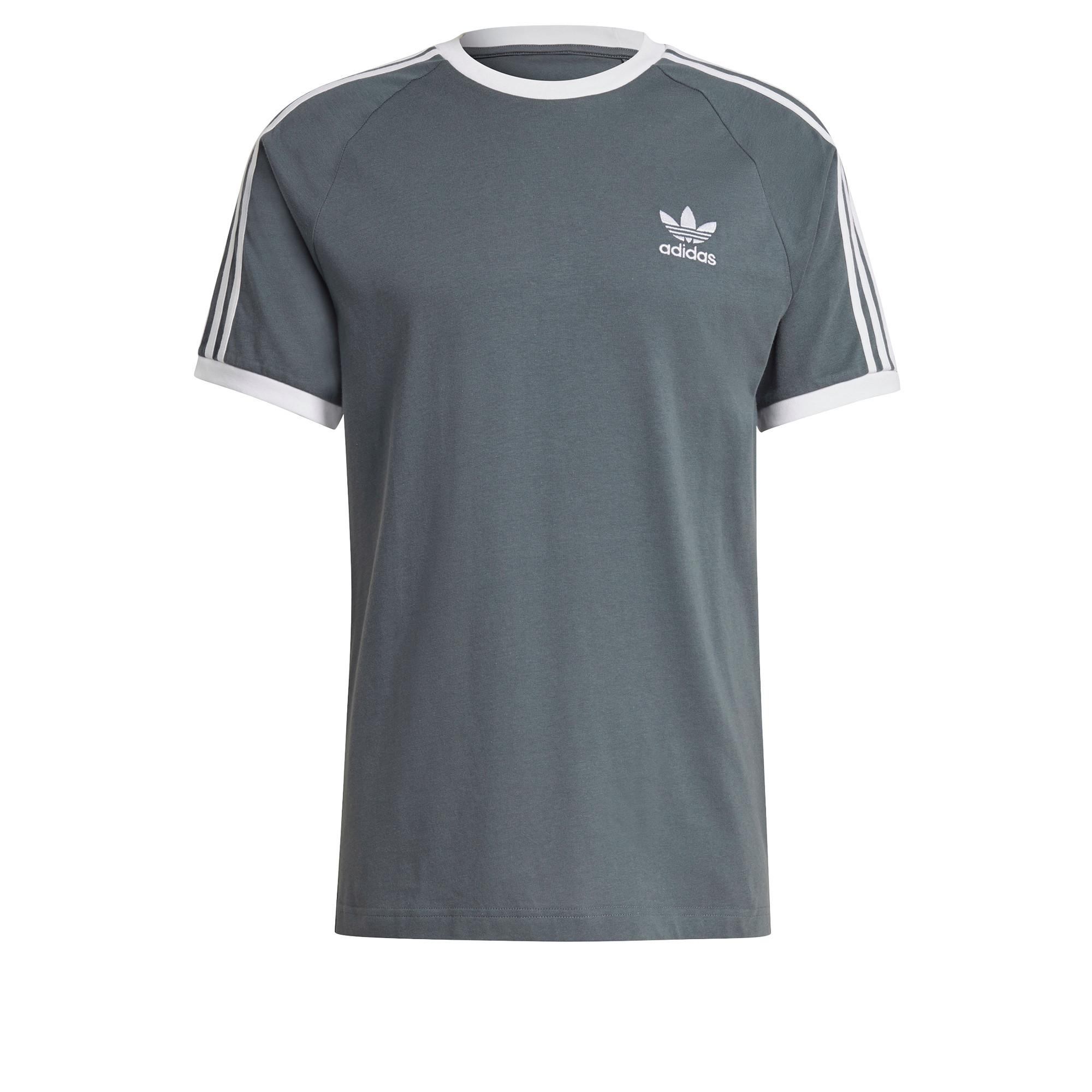T-Shirt Adicolor Classics 3-Stripes, Blu, large image number 0