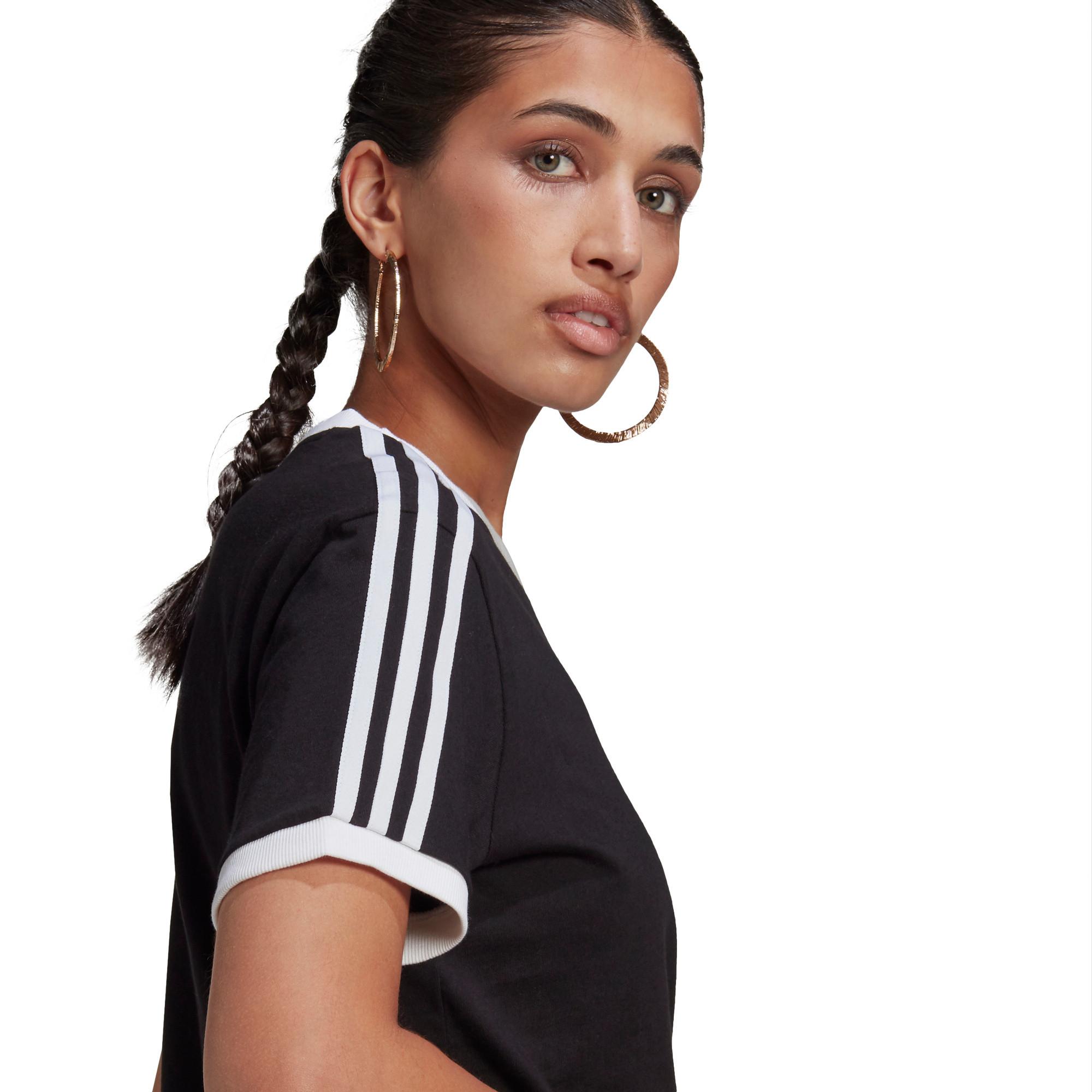 T-shirt adicolor Classics 3-stripes, Nero, large image number 3