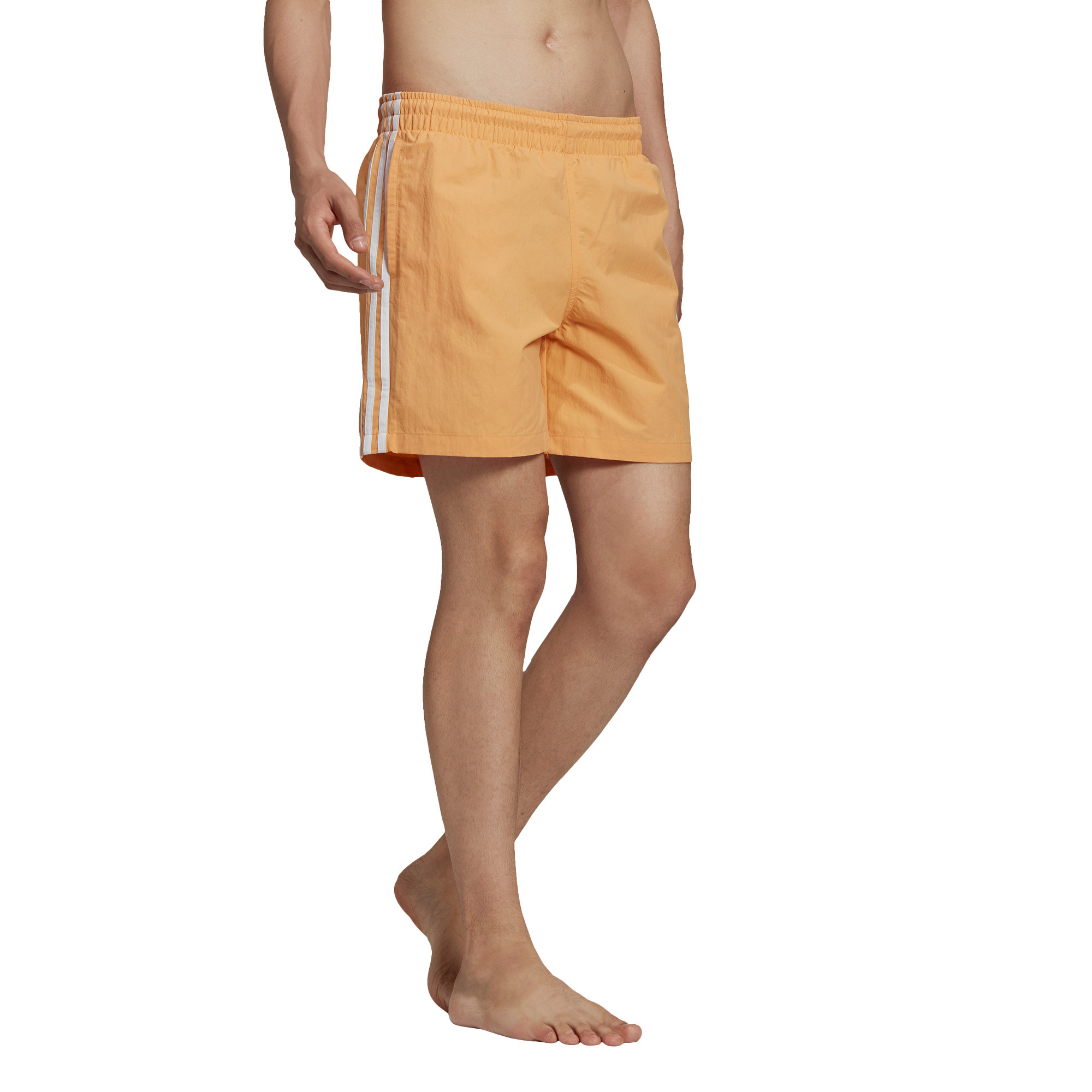 Short da nuoto adicolor classics 3-stripes, Arancione, large image number 1