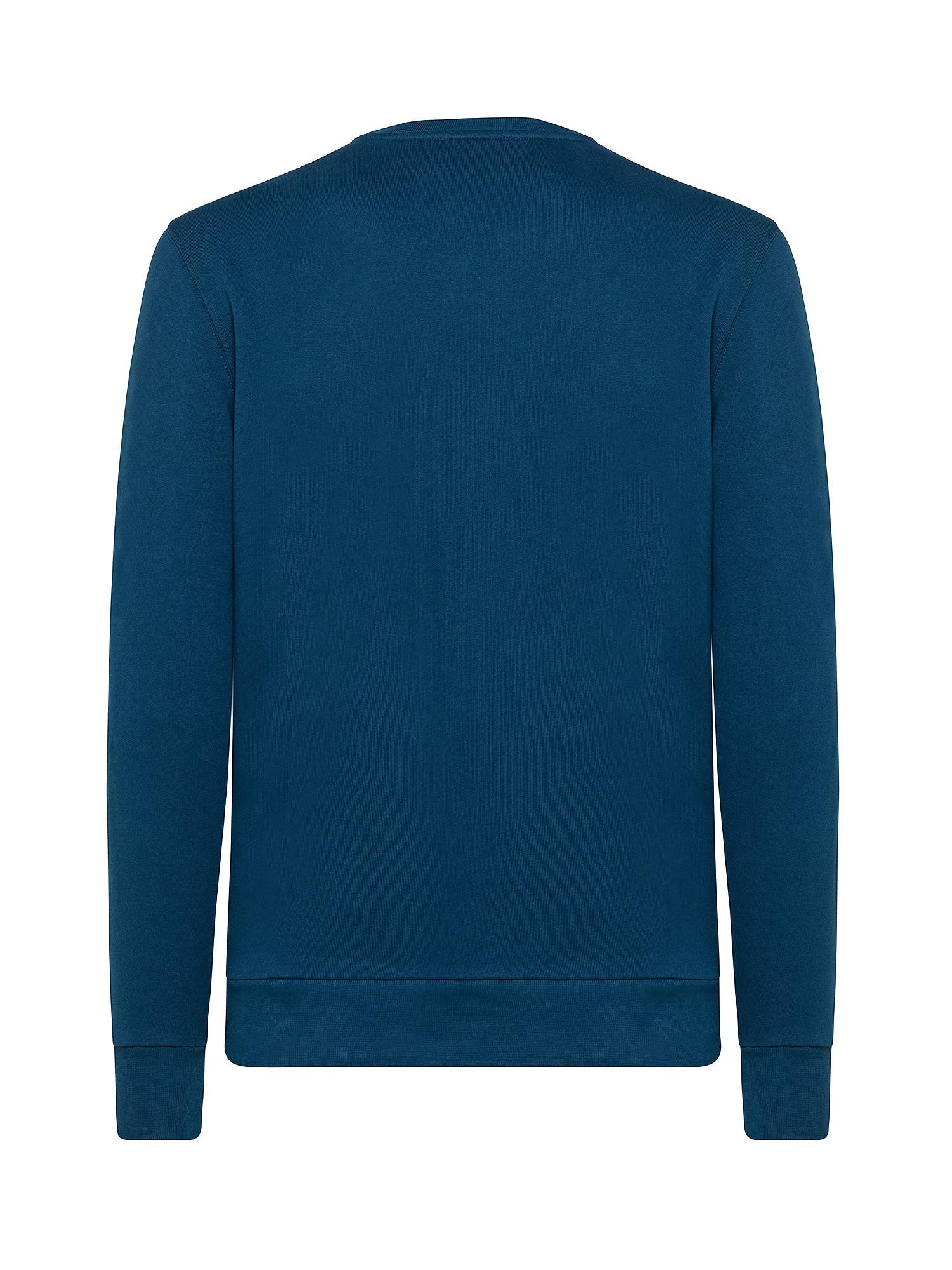 Felpa in cotone organico, Blu, large image number 1