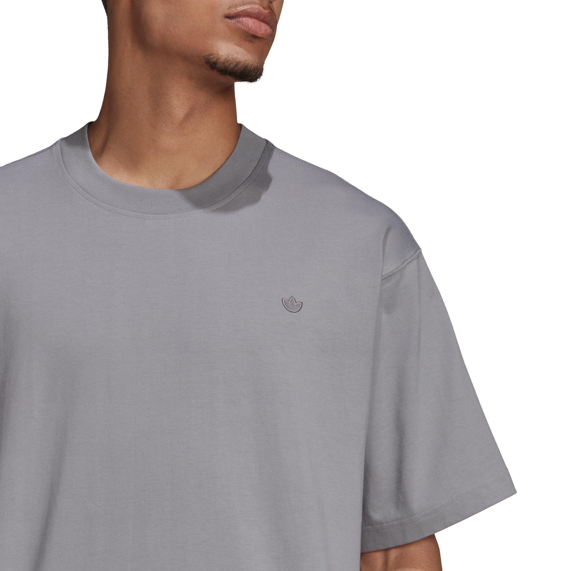 T-shirt uomo adicolor Trefoil, Grigio, large image number 4