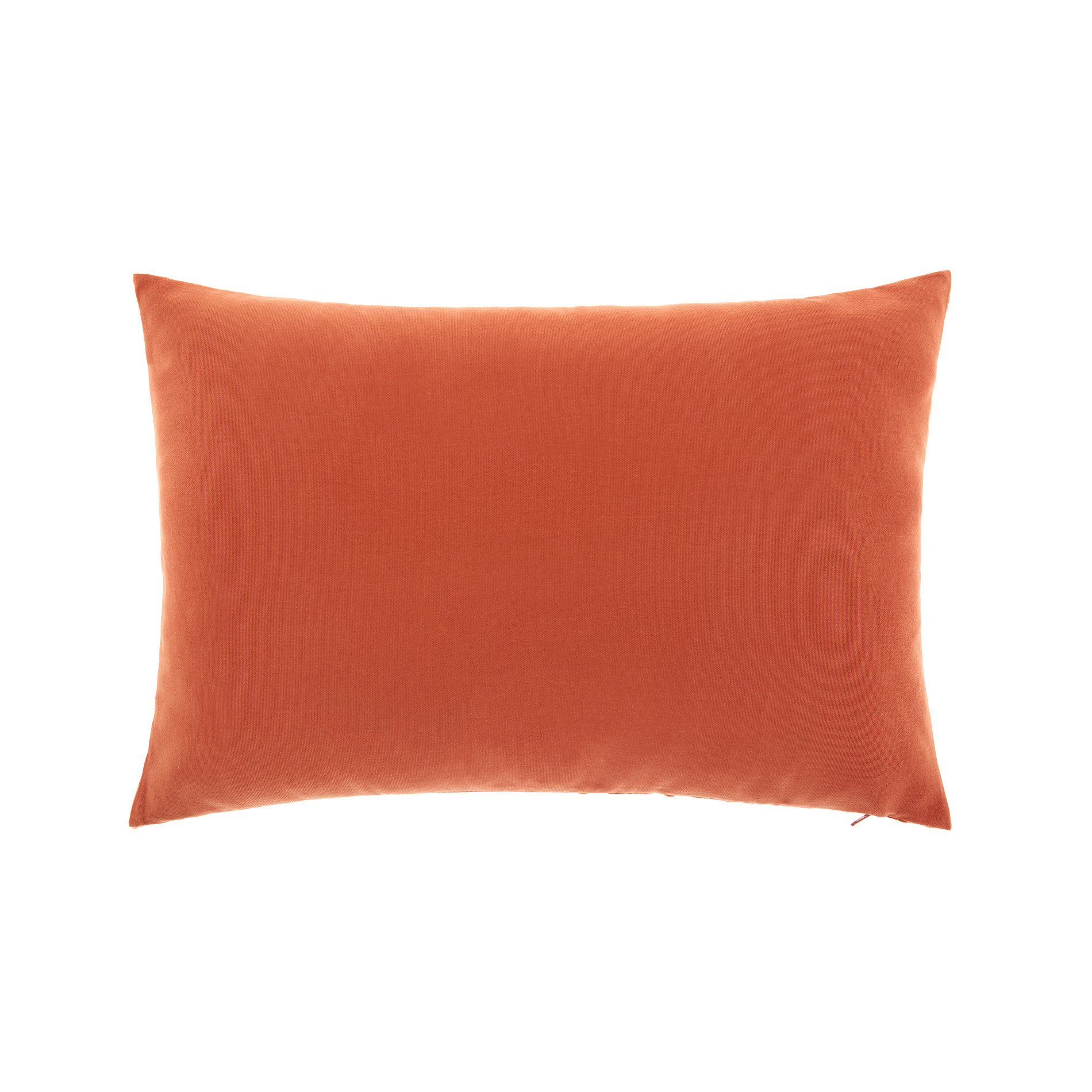 Cuscino velluto motivo geometrico 35x55cm, Marrone chiaro, large image number 1