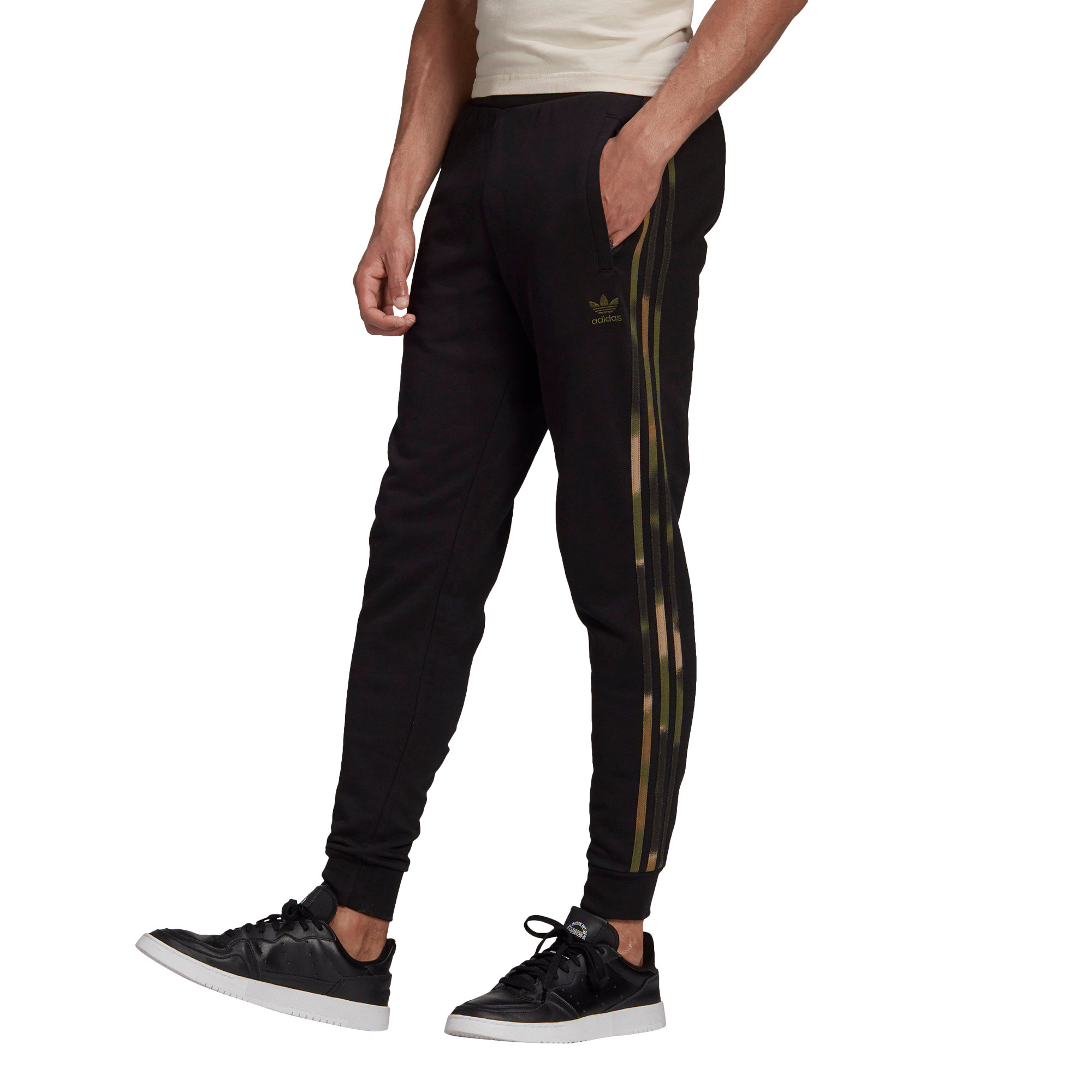 Pantaloni tuta Camo Stripes, Multicolor, large image number 2