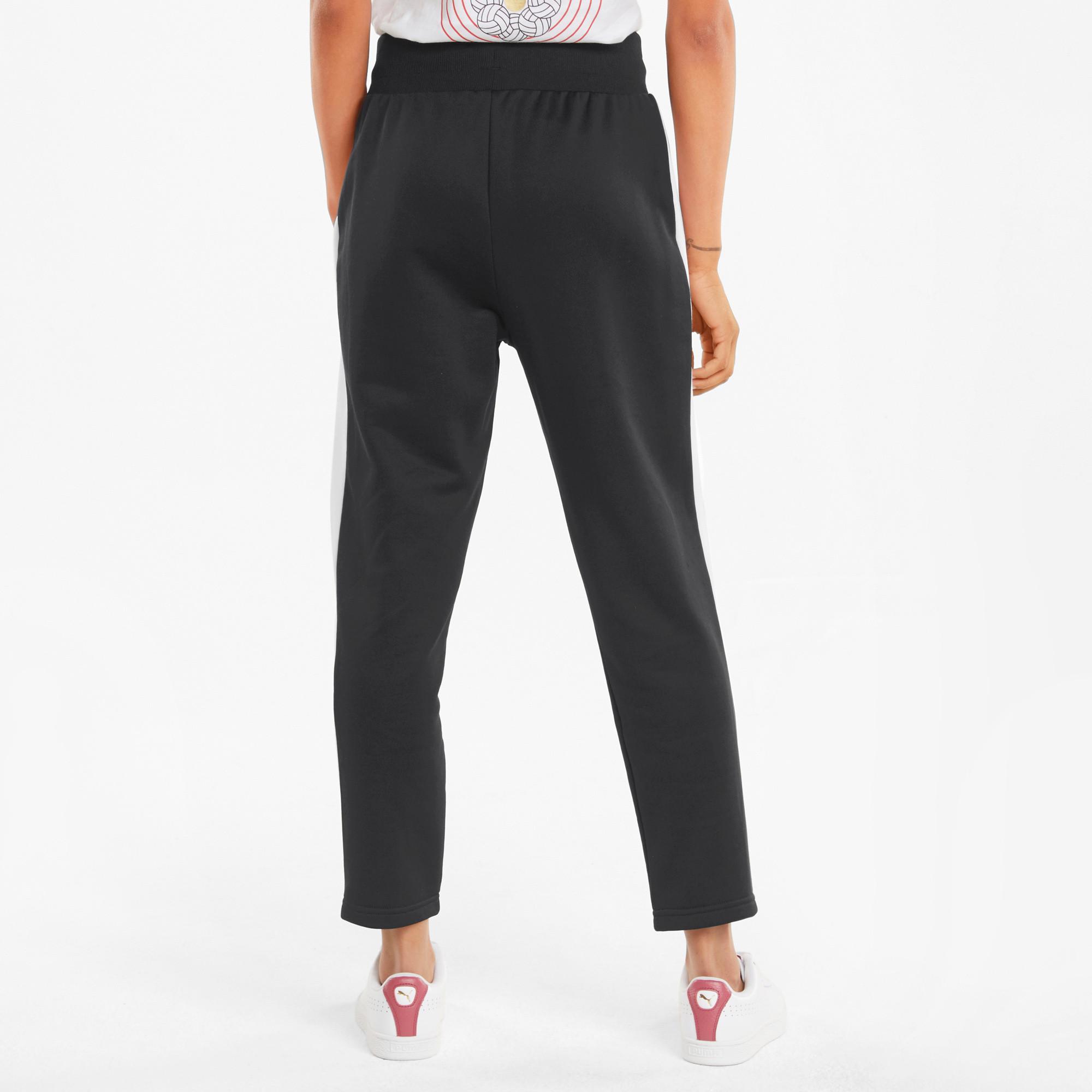 Pantaloni tuta donna Iconic T7, Nero, large image number 3