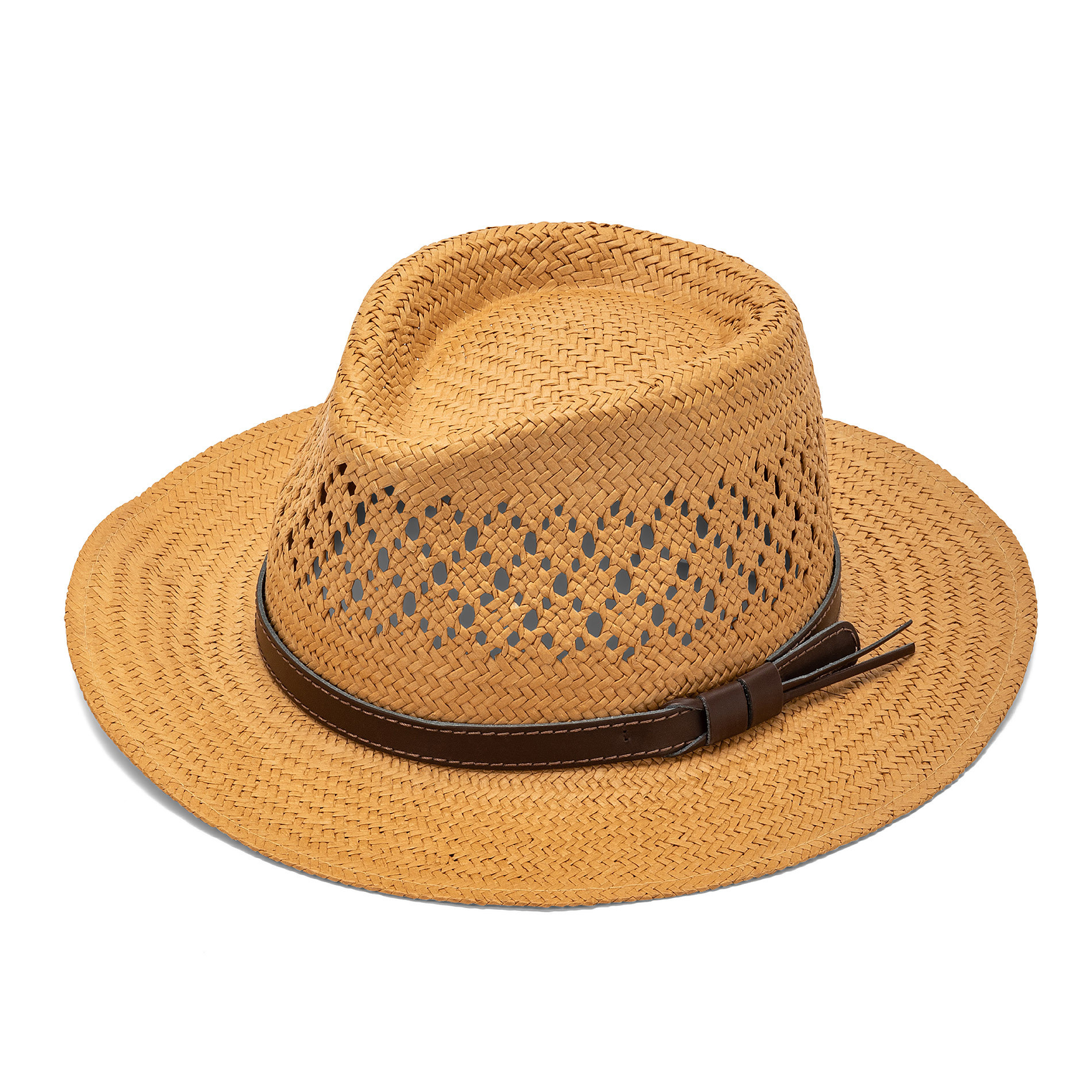 Cappello stile panama in paglia, Beige, large image number 0