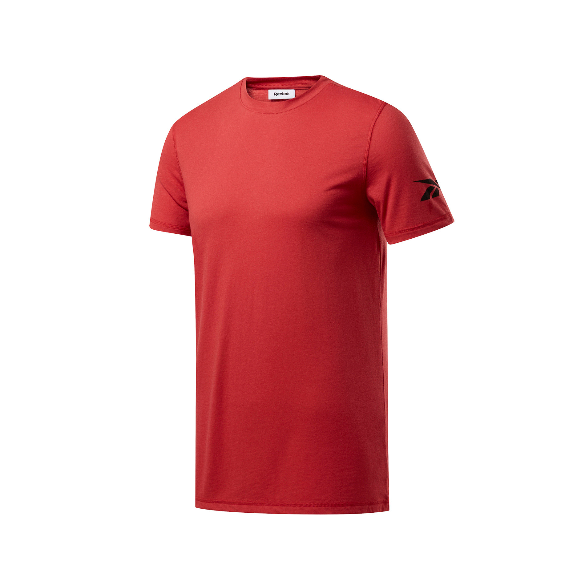 T-shirt workout jersey tech, Rosso, large image number 0