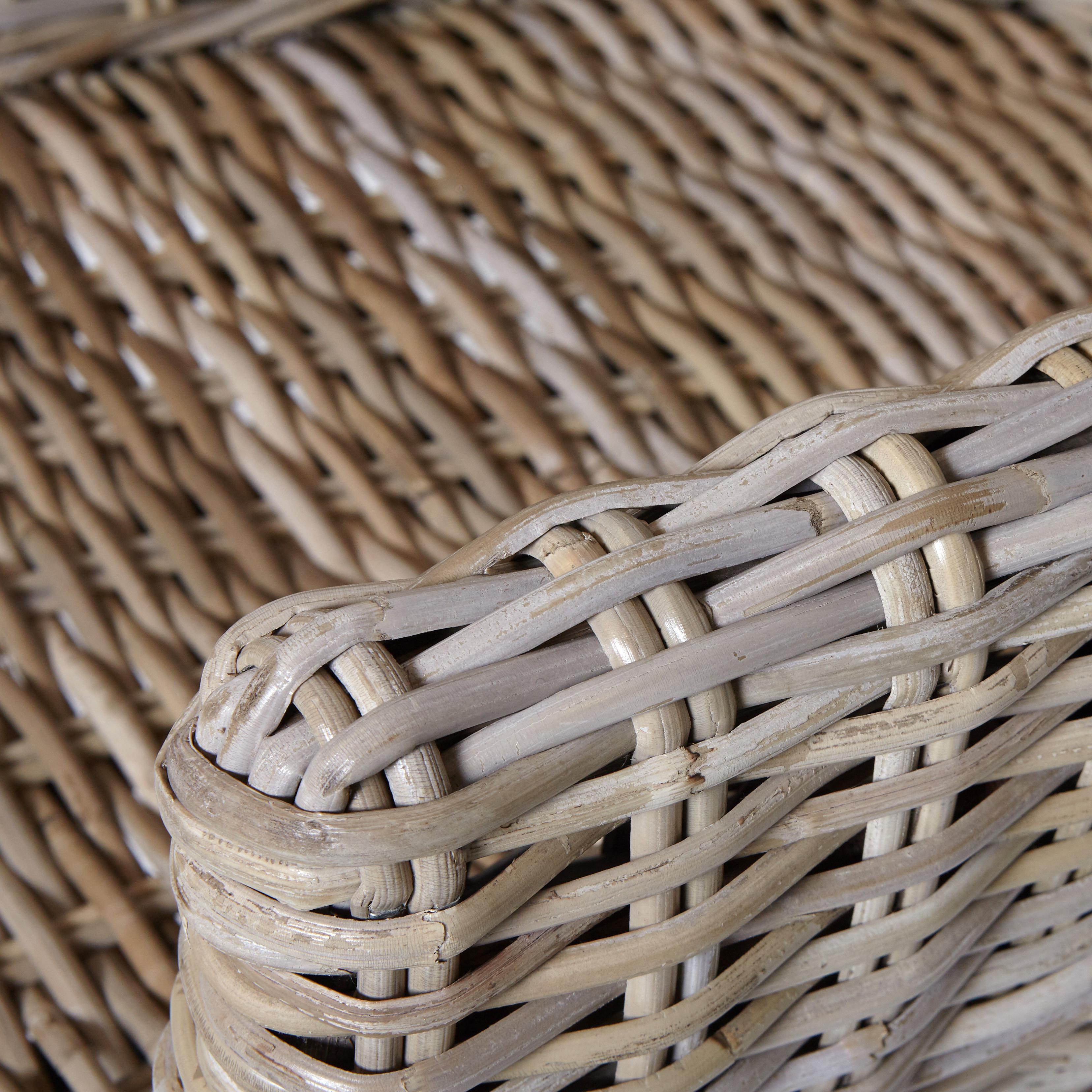 Poltrona rattan intrecciato Bungalow, Beige chiaro, large image number 1
