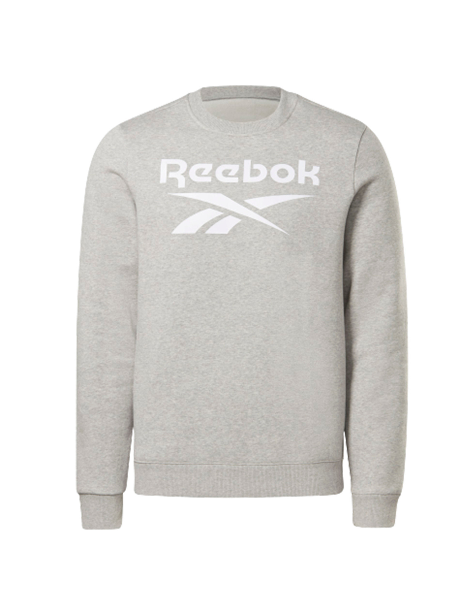 Felpa girocollo Reebok identity fleece, Grigio, large image number 0