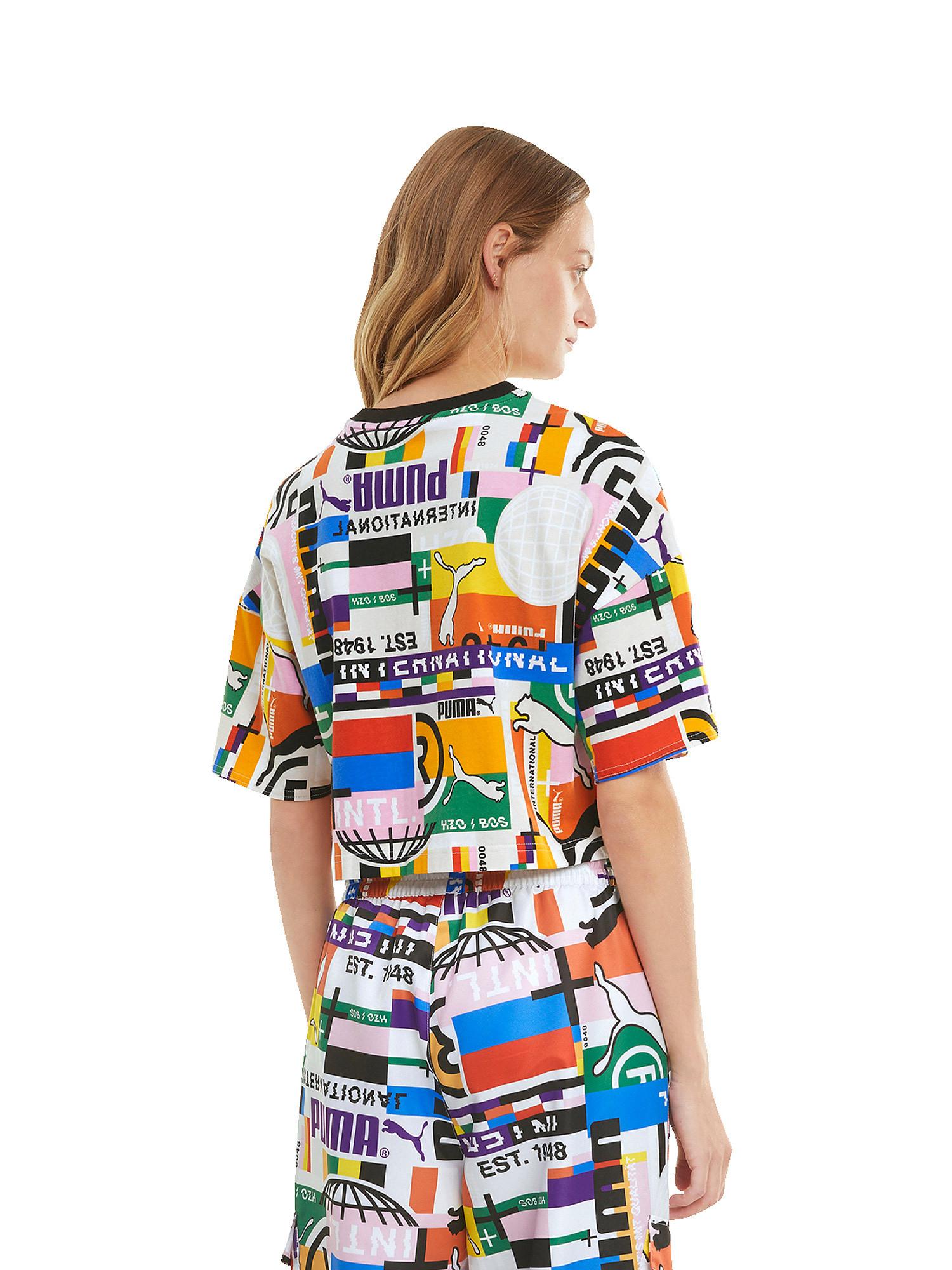 T-shirt donna, Bianco, large image number 4